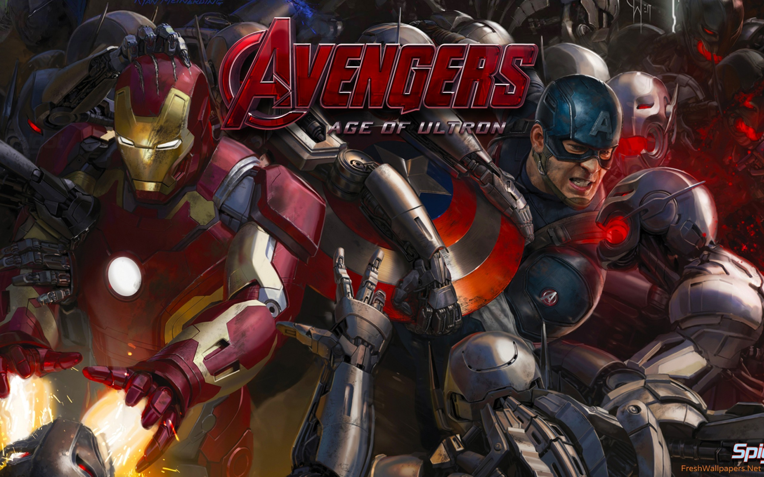 Avengers Age Of Ultron Wallpaper High Definition
