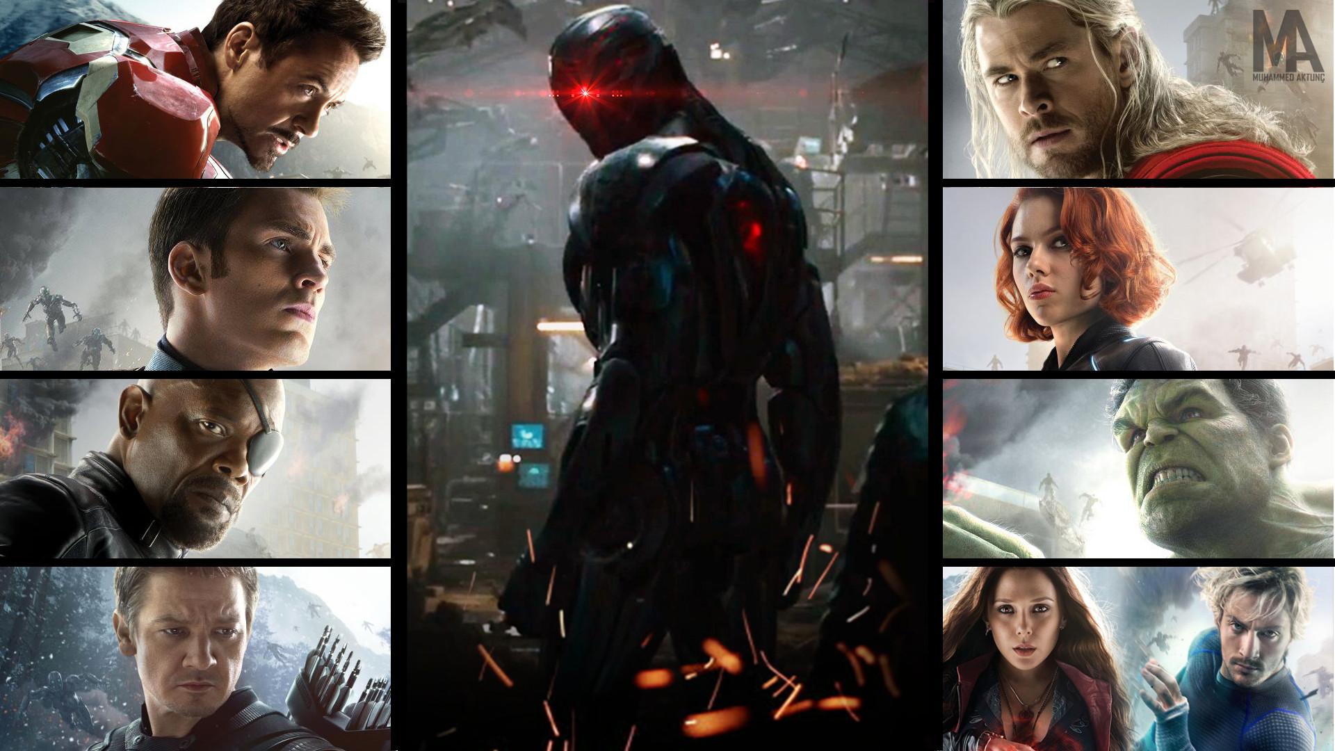 … MARVEL's Avengers: Age of Ultron HD Wallpaper by muhammedaktunc