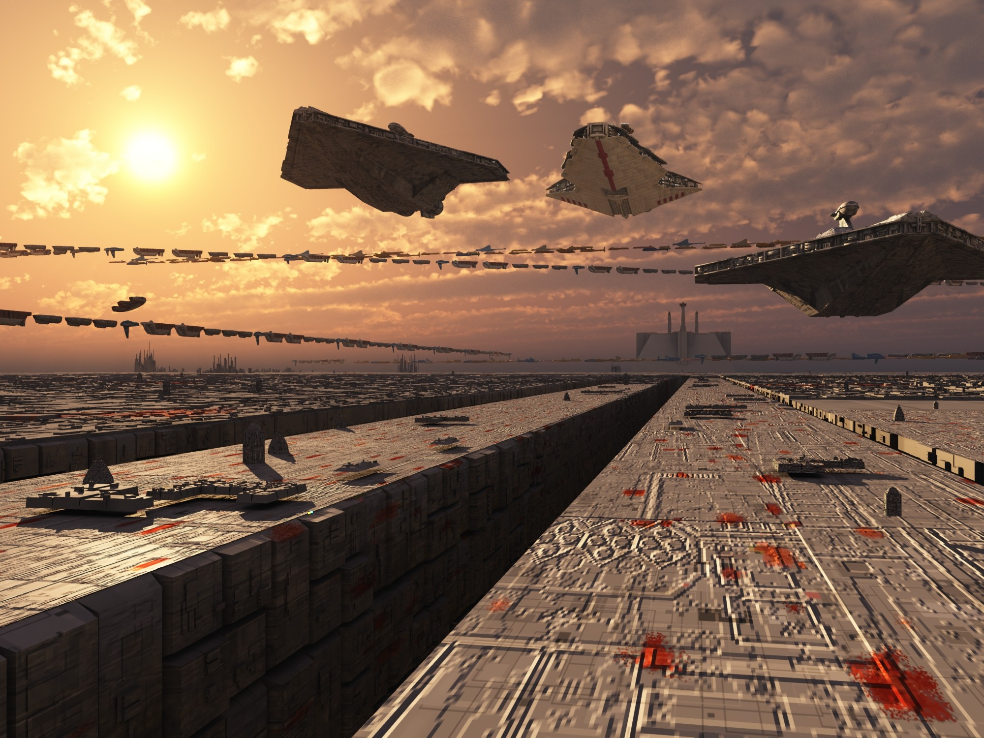 Coruscant Surface by Witch-King-42 on DeviantArt