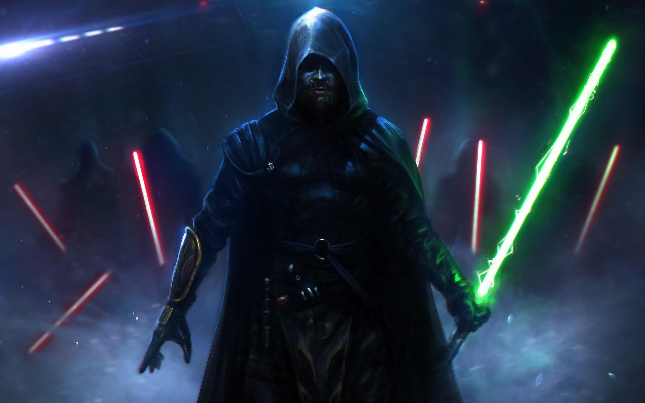 Coruscant, Star Wars, Night Wallpaper HD