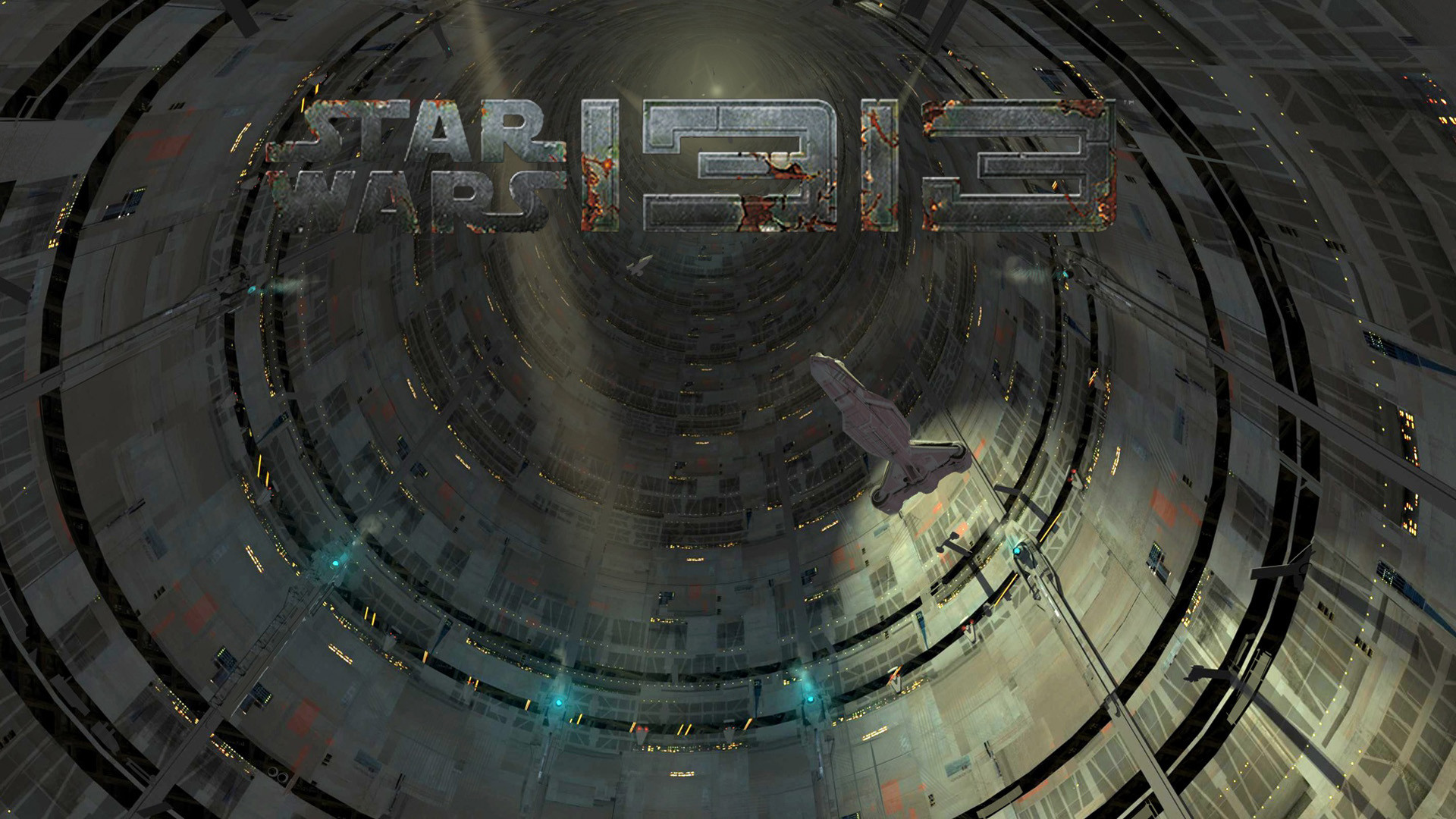 Star Wars 1313 Spaceship wallpaper