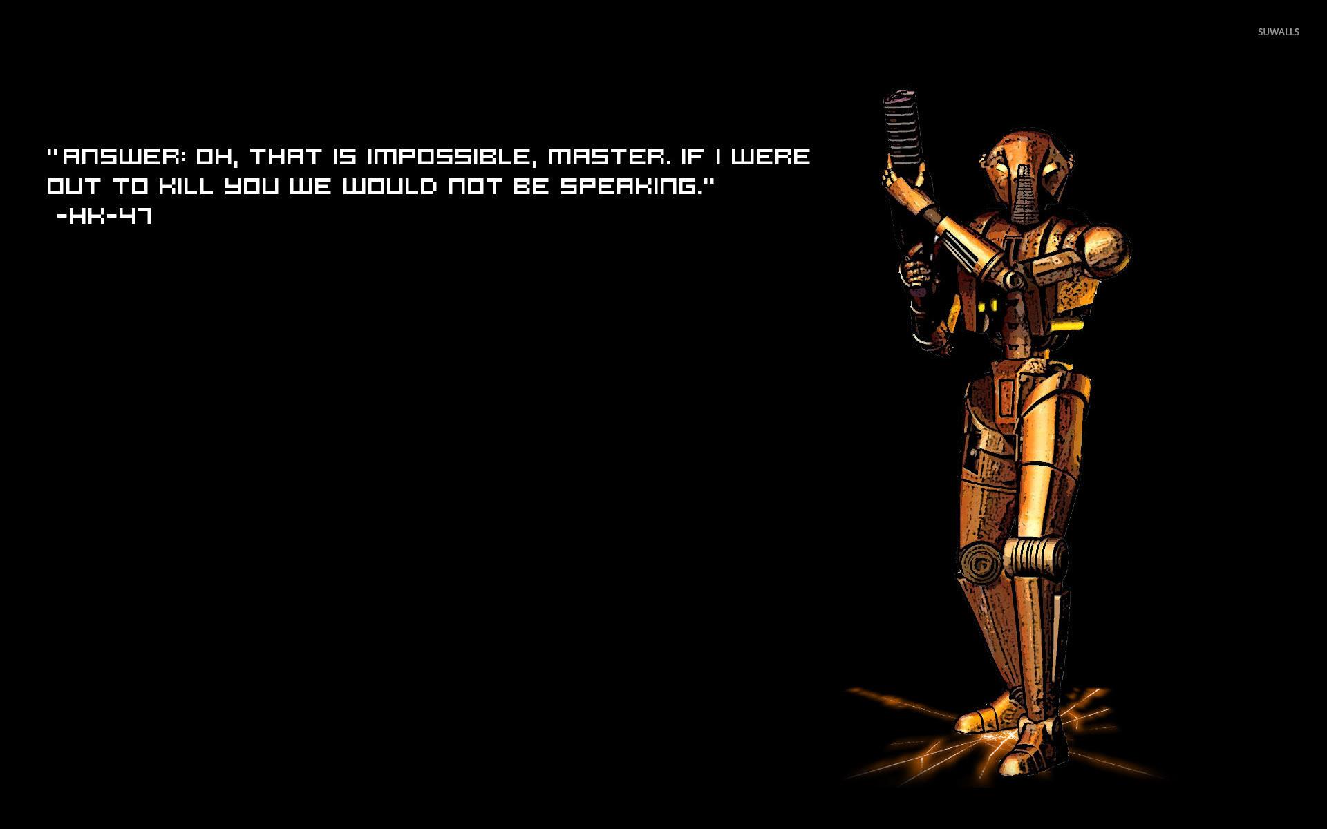 Star Wars quote wallpaper jpg
