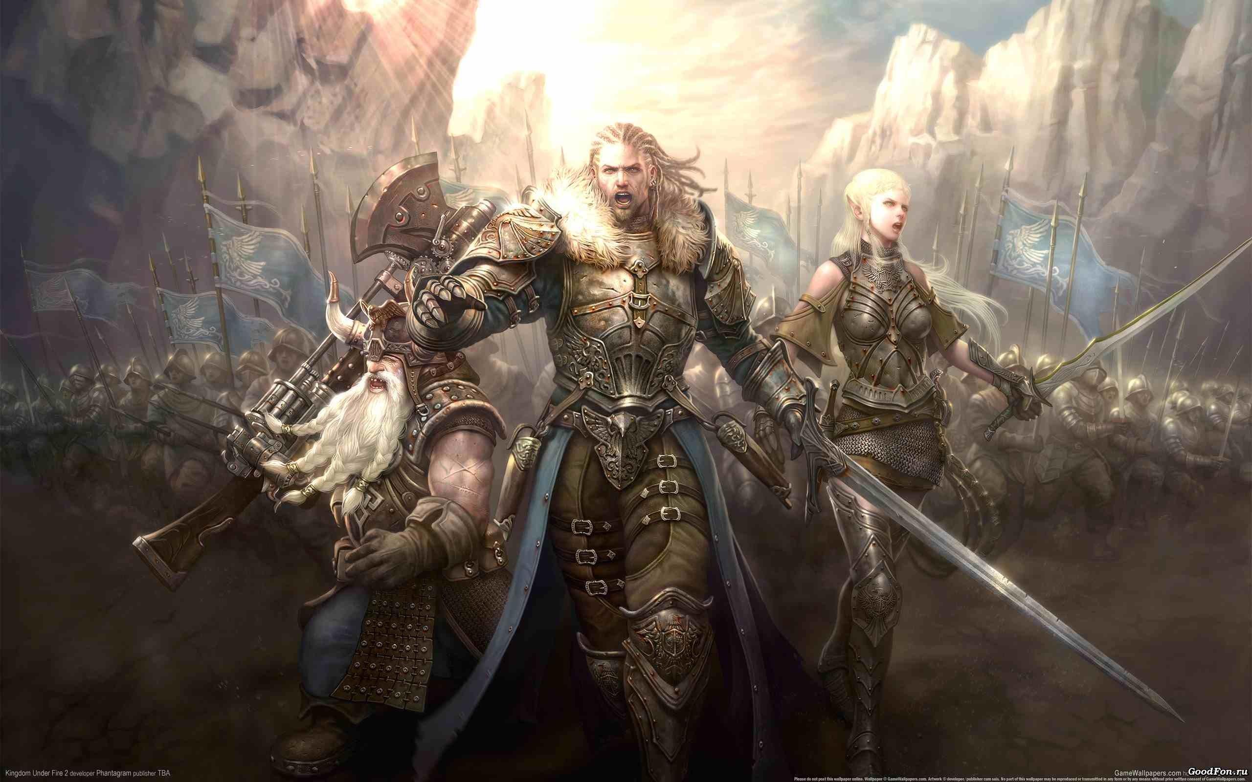 video game kingdom under fire Wallpaper Backgrounds