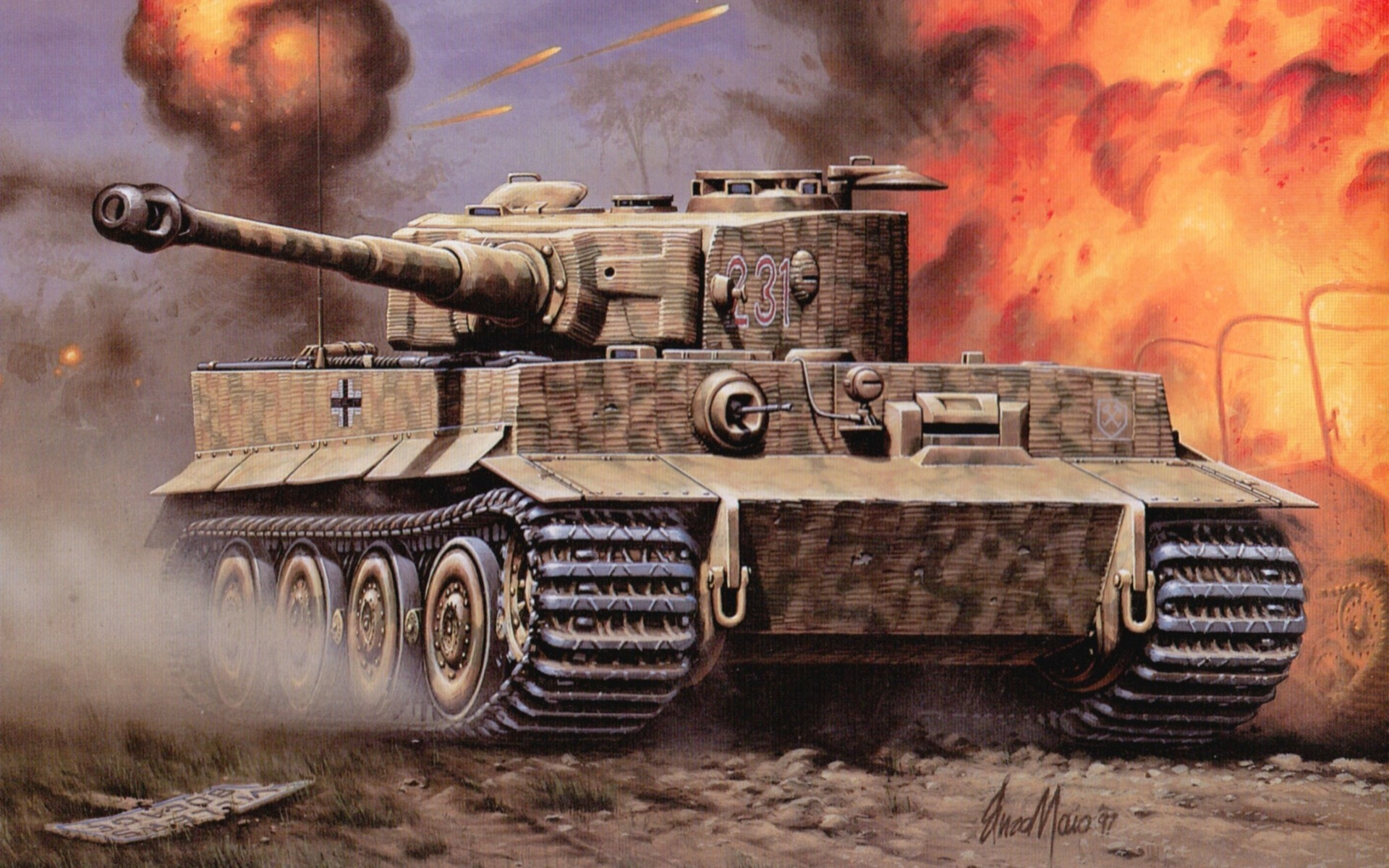 Tiger Tank HD Wallpapers Best Collection Of Tiger Tiger · Kingdom Of HeavenBattle  …