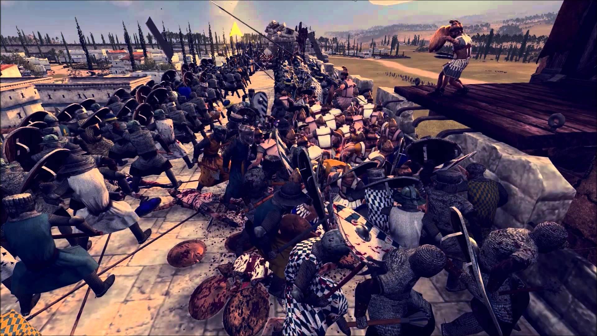 Rome 2 Total War: Kingdom of Heaven, The Battle for Jerusalem – YouTube