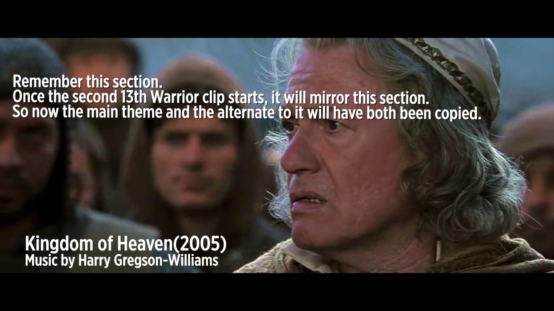 FilmFuns #2 : Kingdom of Heaven steals from The 13th Warrior