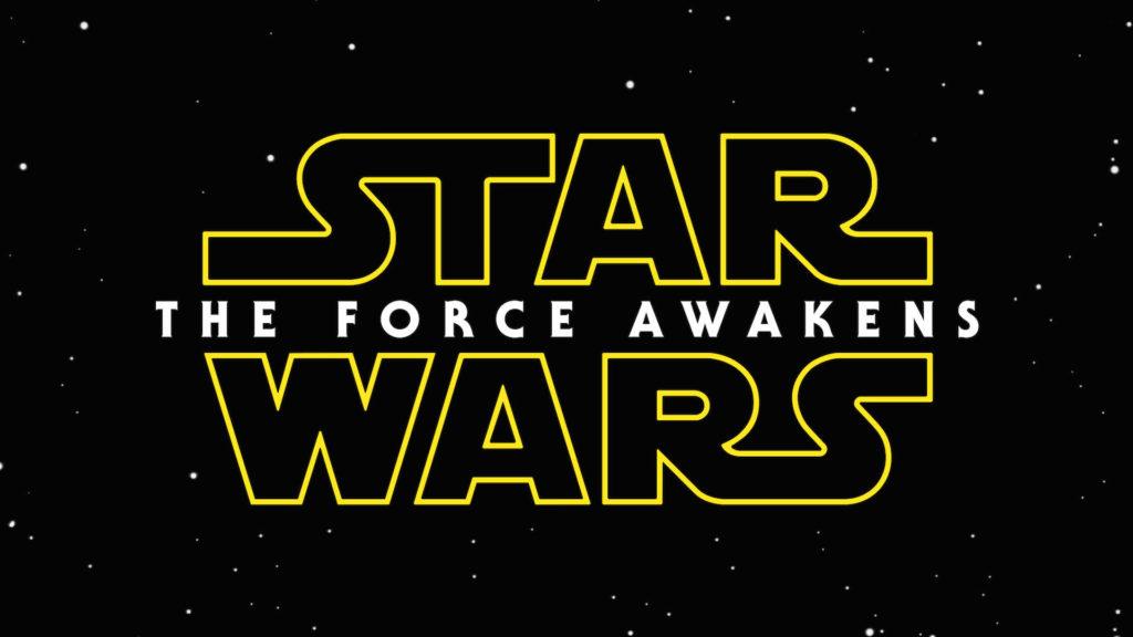 Star Wars 7: The Force Awakens Logo wallpaper