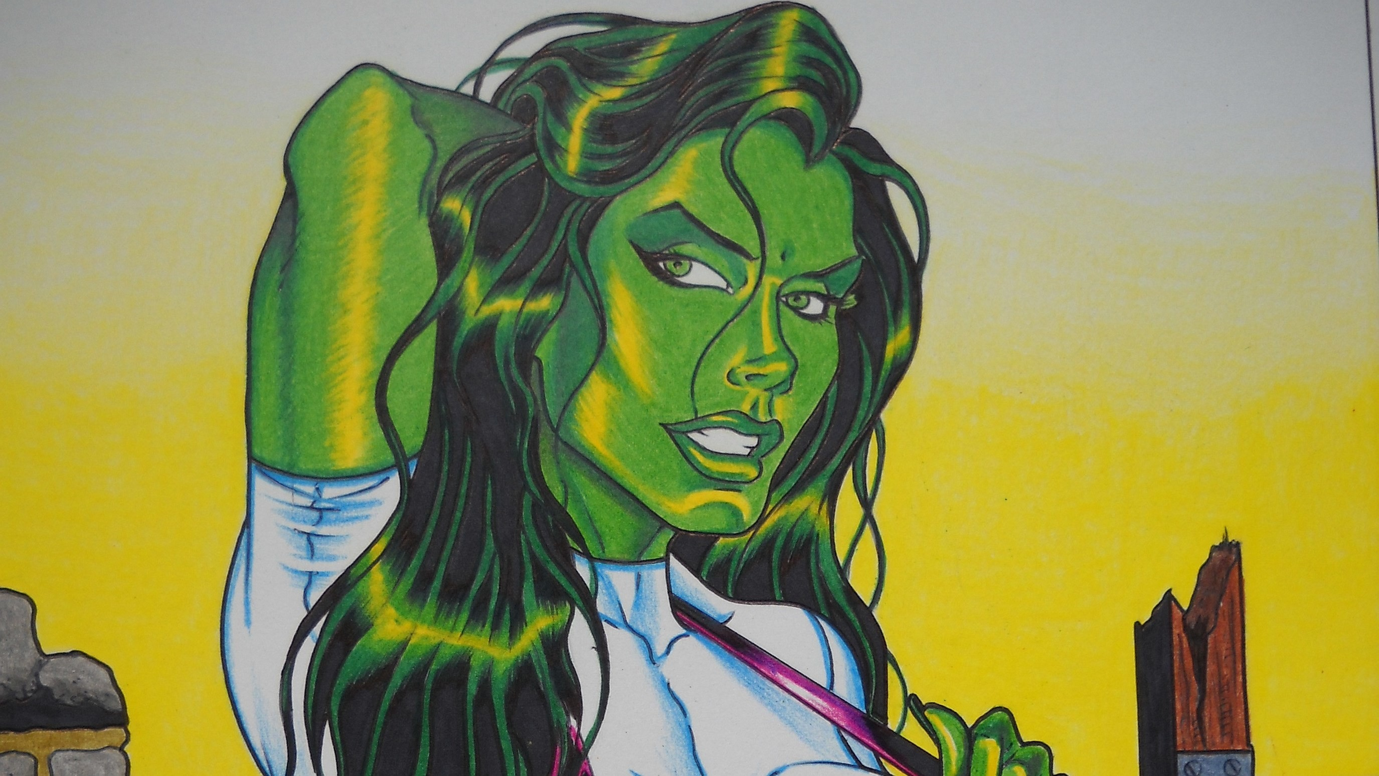 she hulk wallpaper pictures free by Blake Chester (2017-03-18)