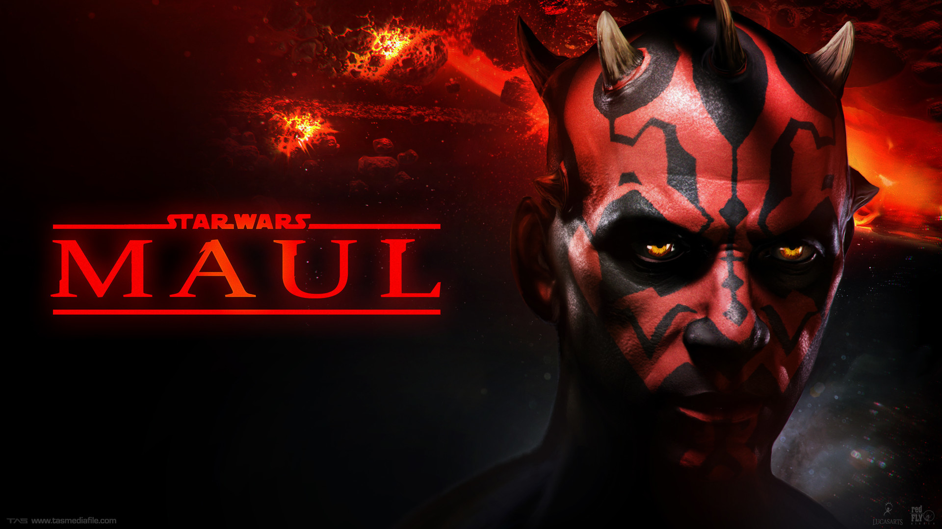 The game, titled Star Wars: Maul, was in development between 2010 and 2011,  but the plug was pulled by LucasArts prior to Lucasfilm's sale to Disney.