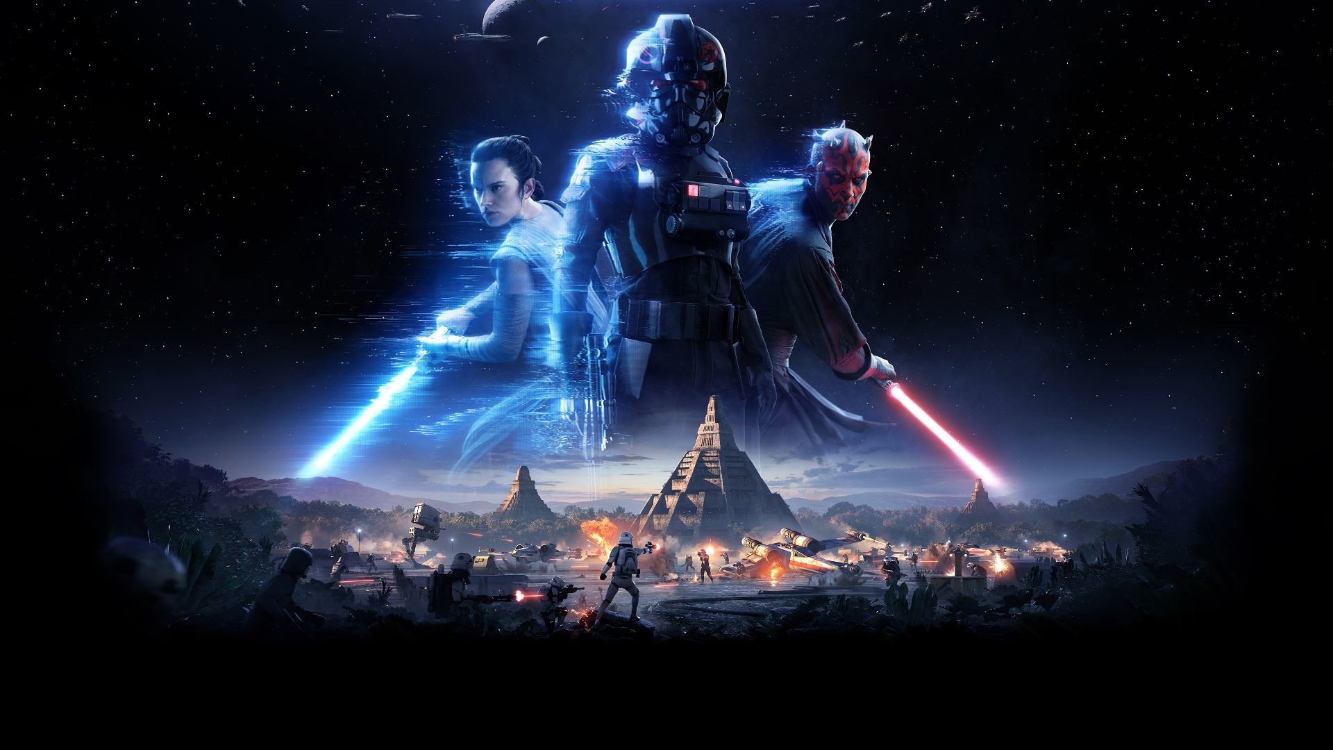 Video Game – Star Wars Battlefront II (2017) Star Wars Sci Fi Futuristic  Imperial