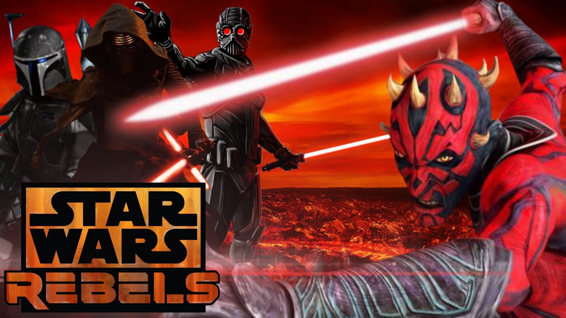 Darth Maul The First Knight of Ren – Star Wars Rebels/Episode 8 Theory –  YouTube