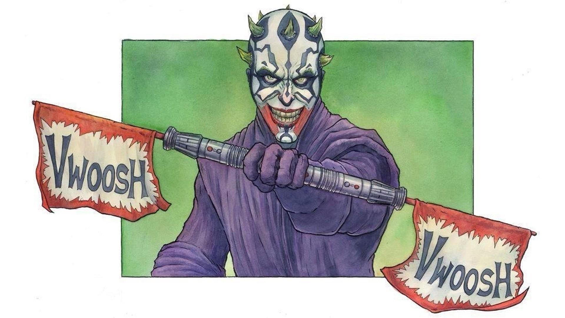 Darth Maul, Star Wars, Joker Wallpapers HD / Desktop and Mobile Backgrounds