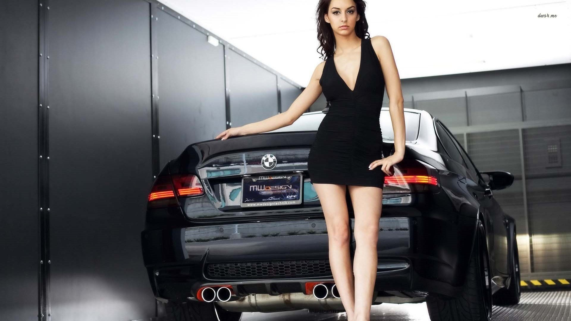 Girl And BMW M3 Darth Maul 557626