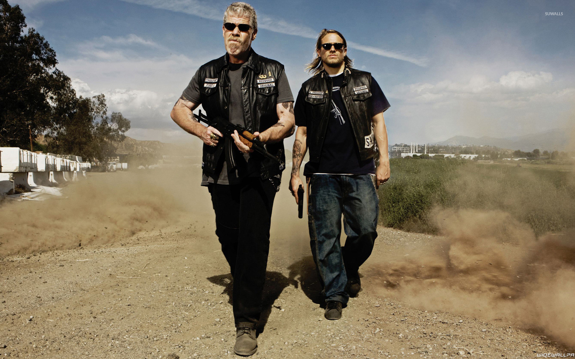 Clay and Jax – Sons of Anarchy wallpaper jpg