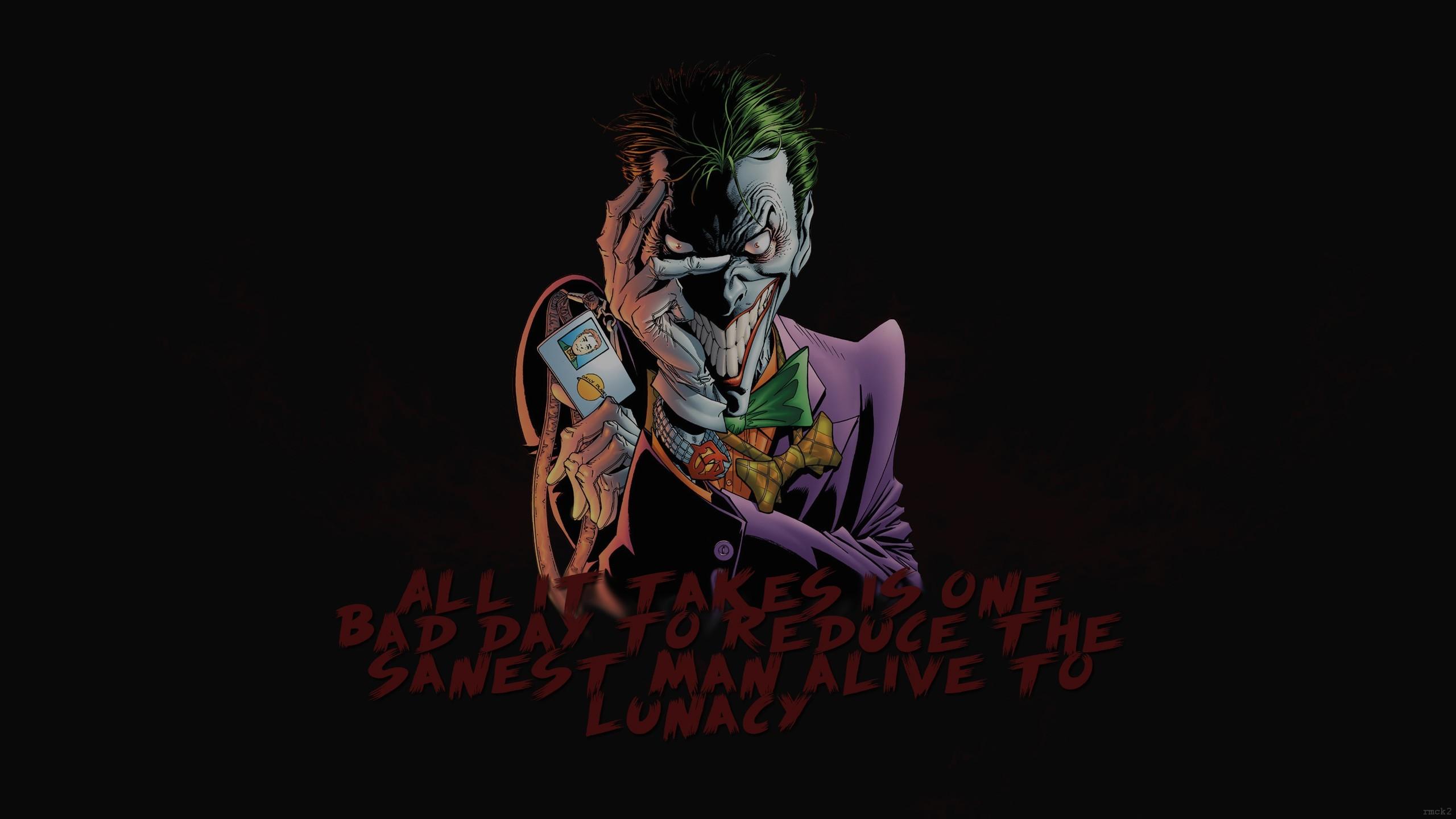 Joker, Batman Begins, Quote Wallpapers HD / Desktop and Mobile Backgrounds
