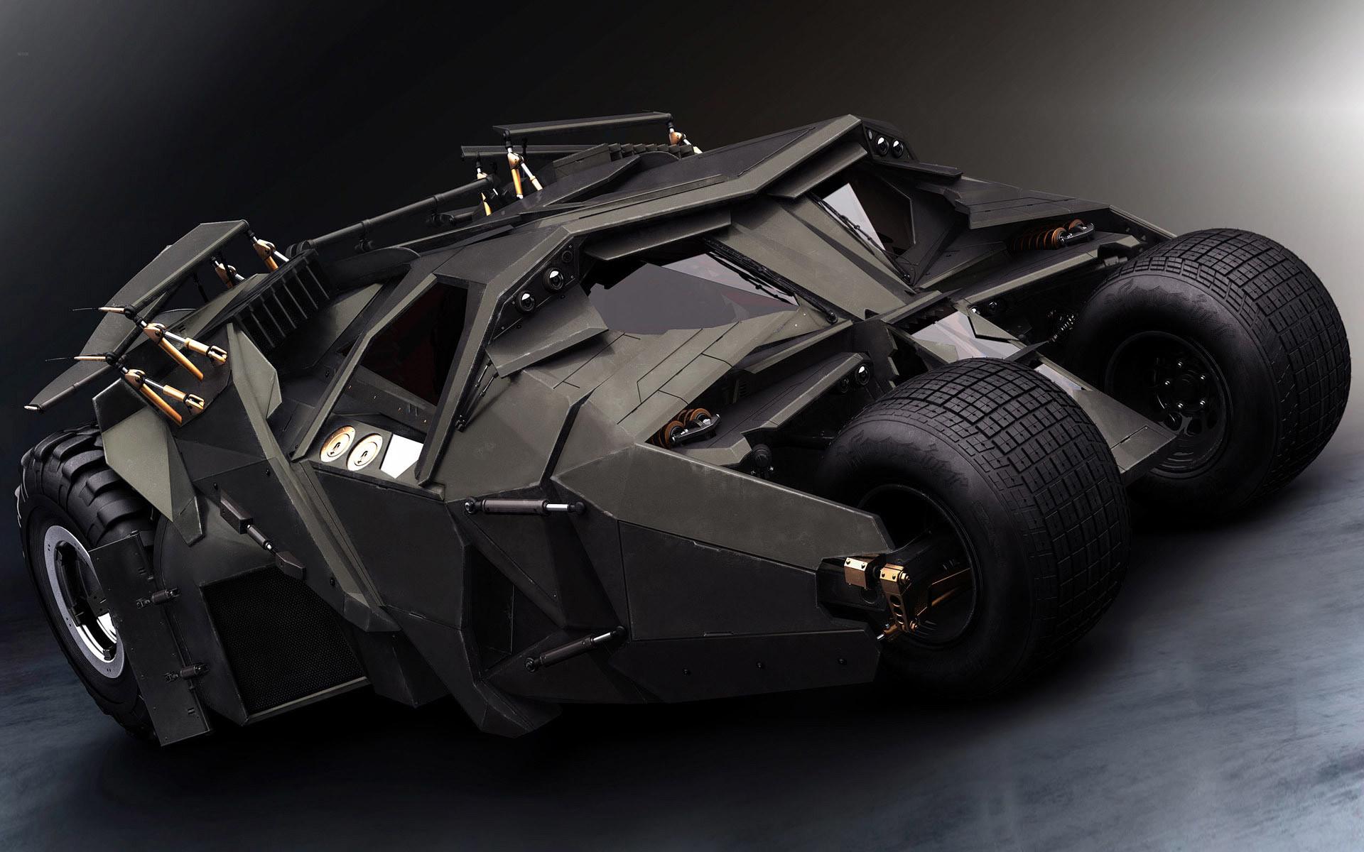 Tumbler in Batman Begins