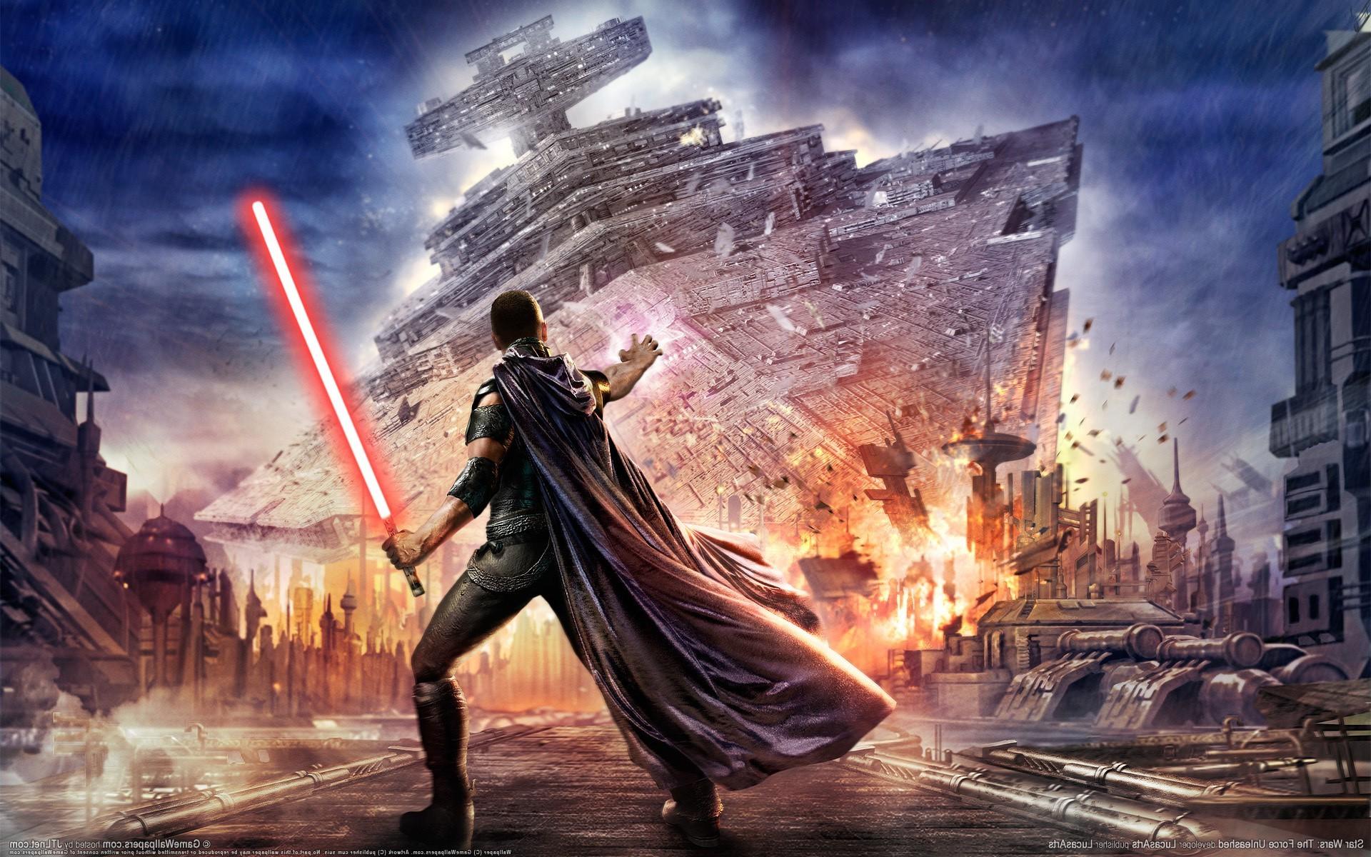 video Games, Star Wars, Star Wars: The Force Unleashed, Star Destroyer,  Lightsaber, Starkiller, Galen Marek Wallpapers HD / Desktop and Mobile  Backgrounds