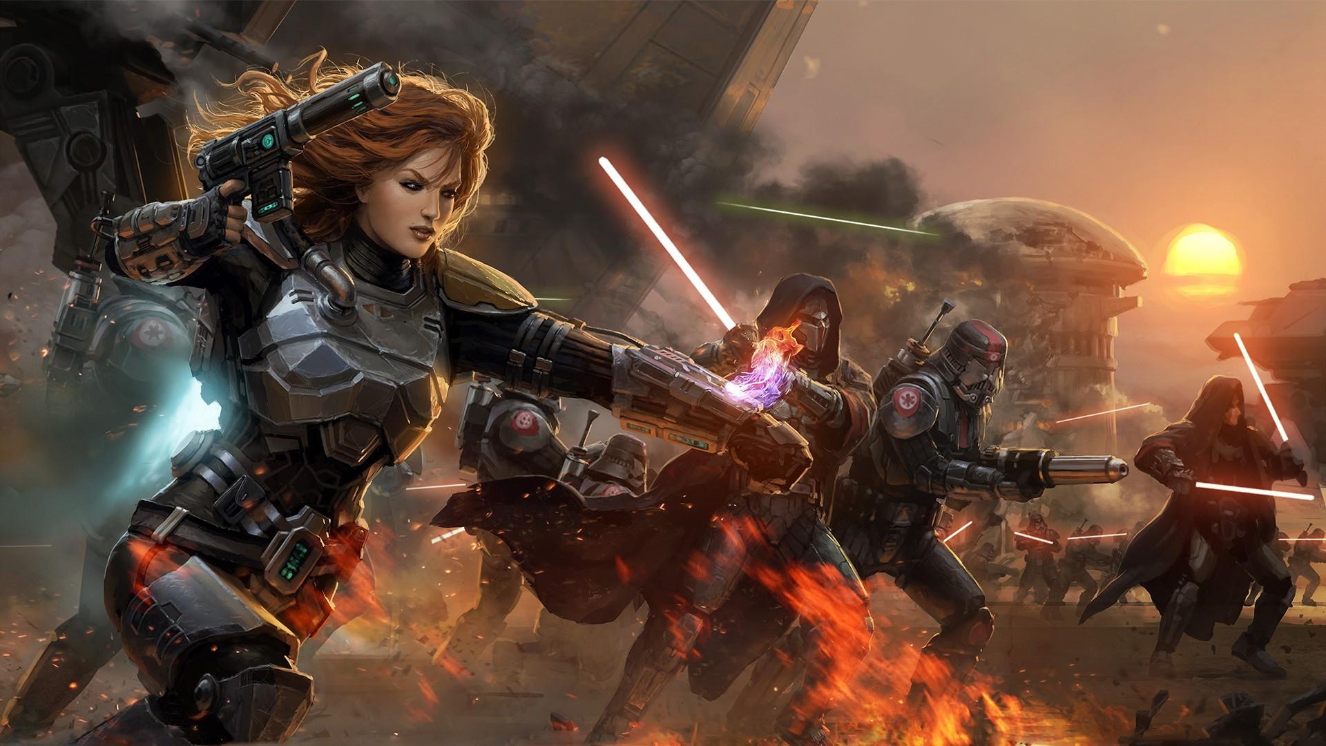 lightsaber, Star Wars, Star Wars: The Old Republic
