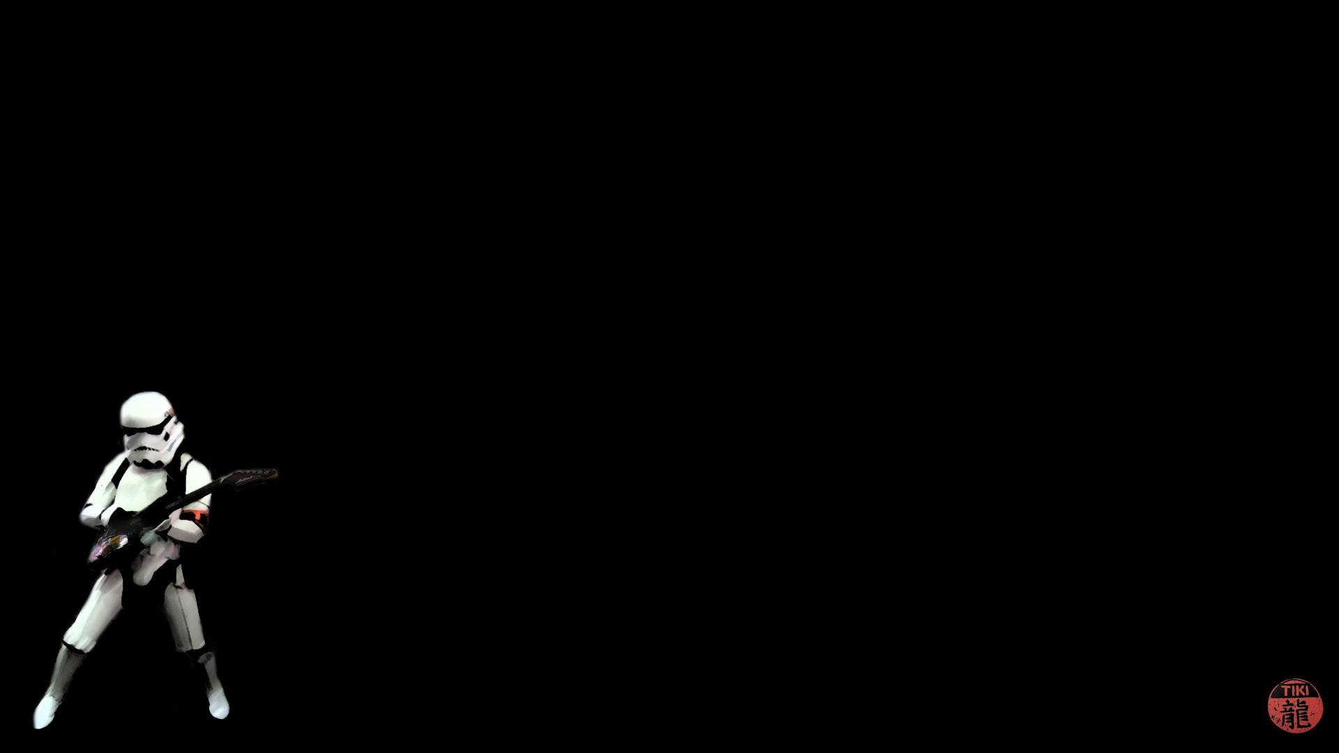 Star Wars Stormtroopers Guitars Black Background : Desktop and .