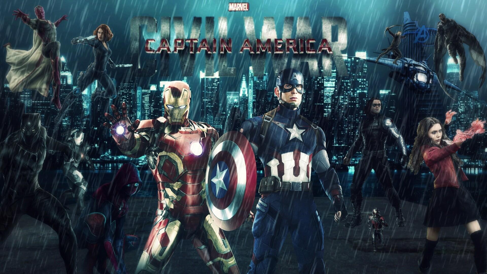 Captain America Civil War Artwork wallpapers (81 Wallpapers) – HD Wallpapers