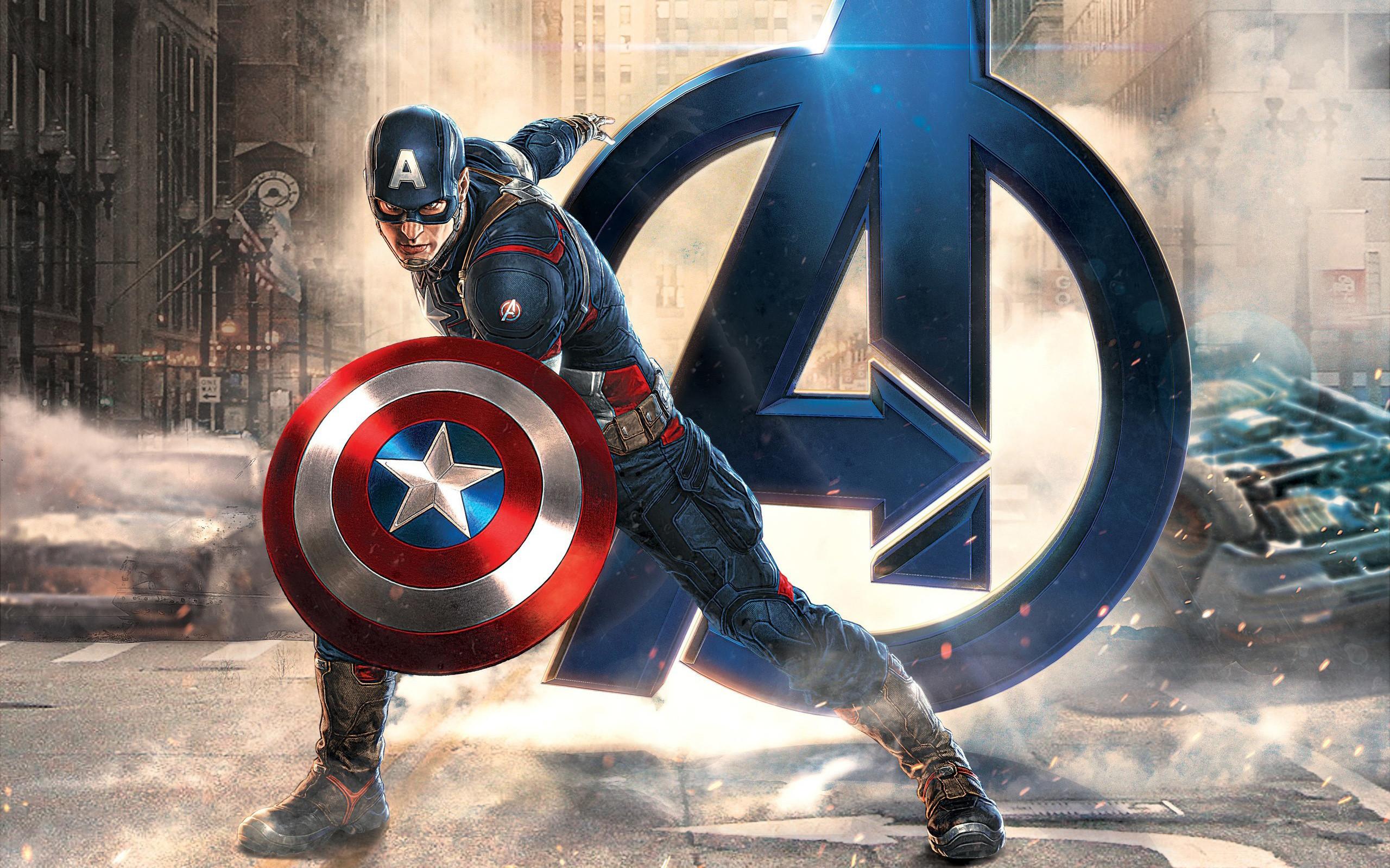 Captain America Desktop Wallpapers