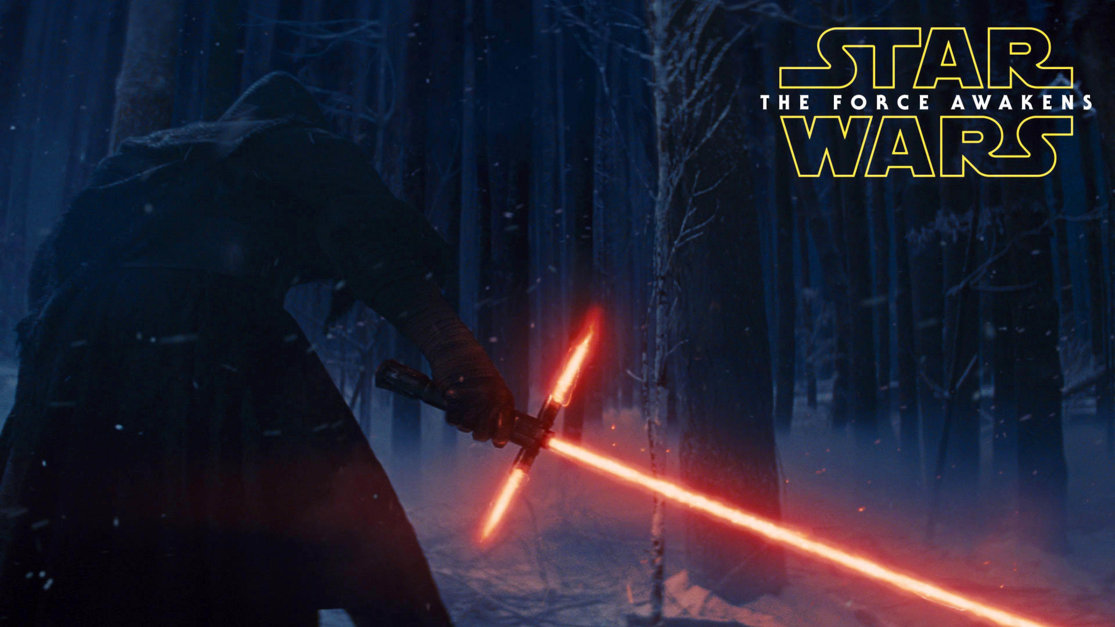 Kylo Ren's Crossguard Lightsaber – Star Wars: The Force Awakens  wallpaper
