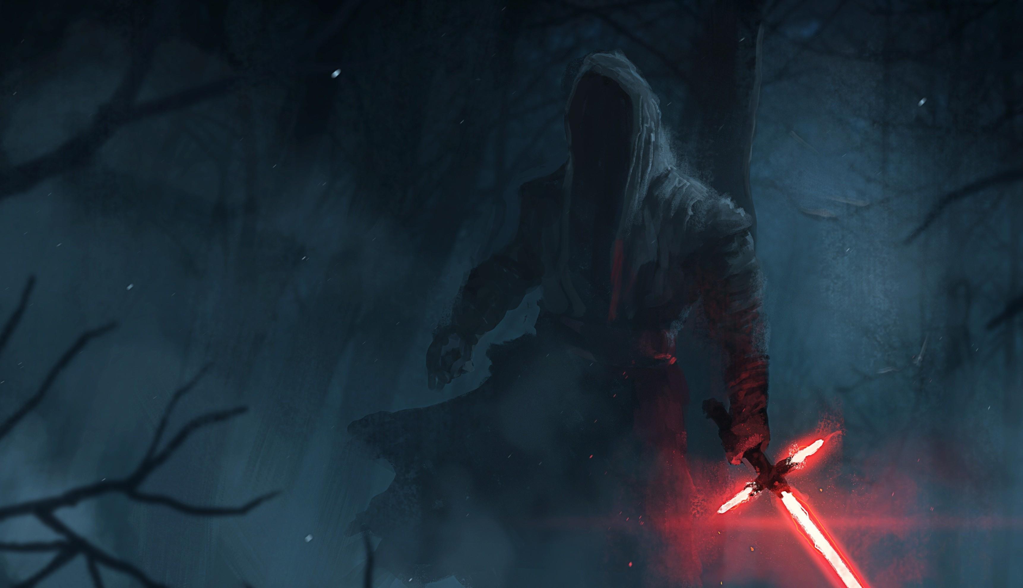 Kylo Ren, Star Wars, Star Wars: The Force Awakens, Lightsaber Wallpapers HD  / Desktop and Mobile Backgrounds