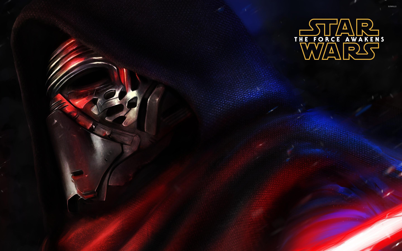 Kylo Ren close-up – Star Wars: The Force Awakens wallpaper