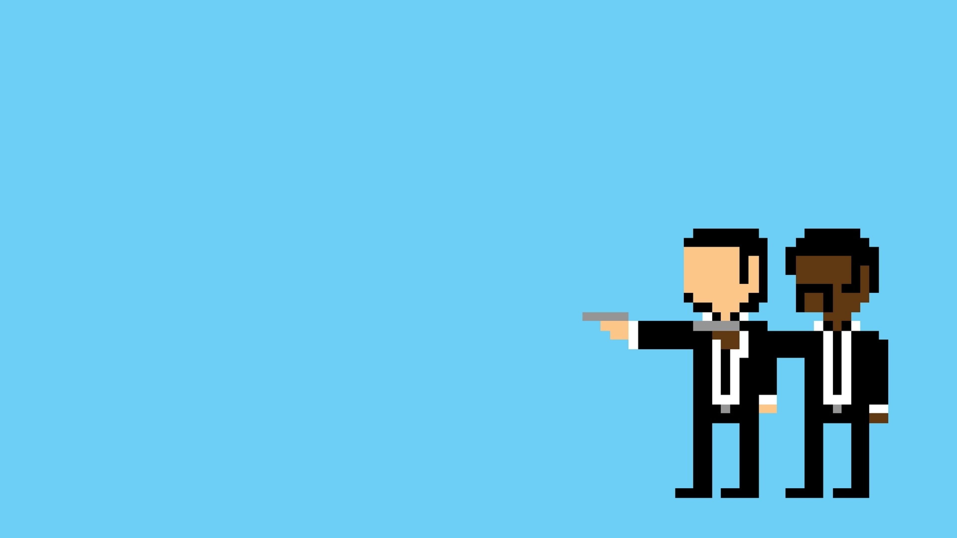 Download Wallpaper Pulp pixel, People, Minimalism, Pulp
