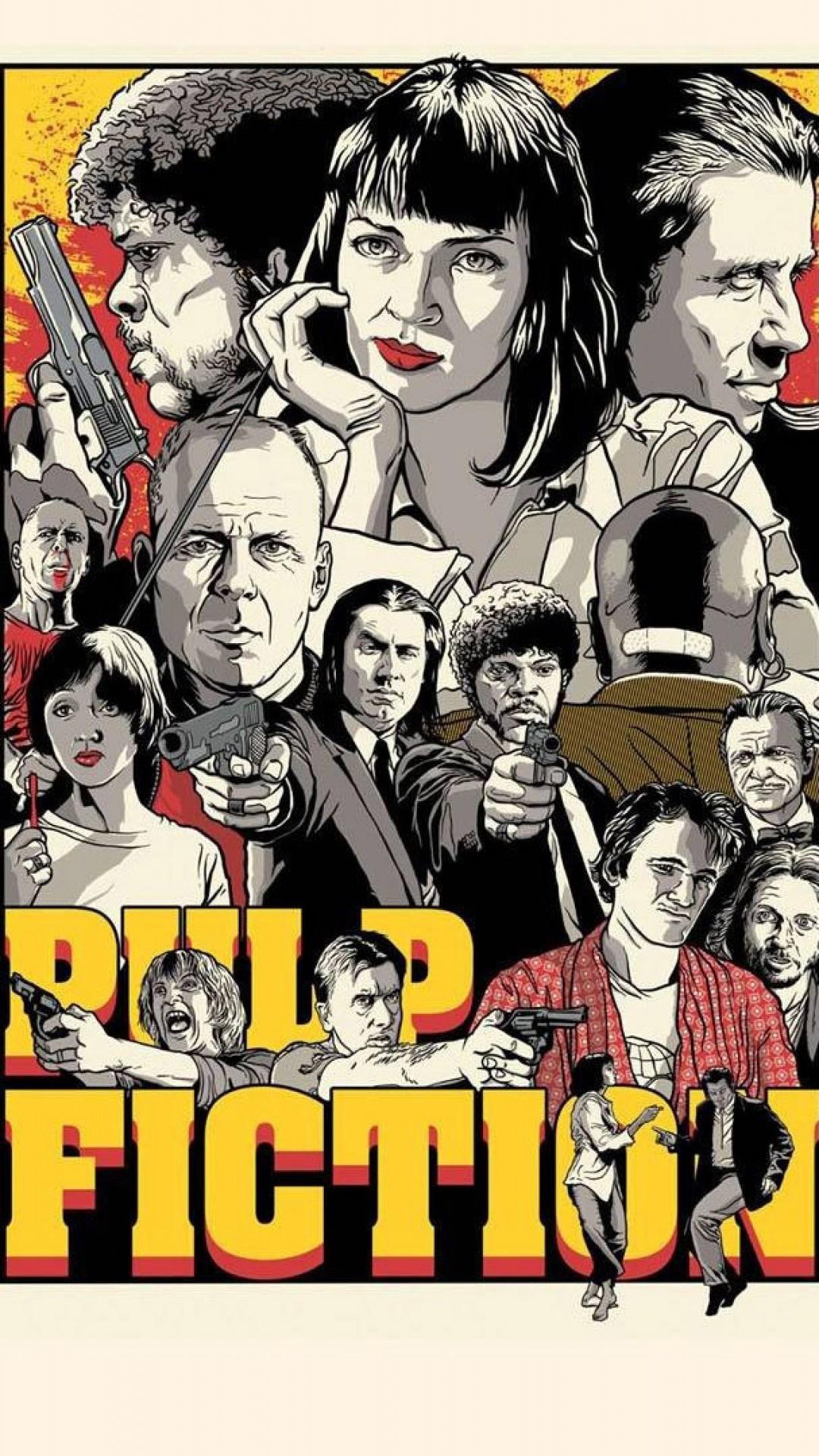 Preview wallpaper quentin tarantino, pulp fiction, kill bill, reservoir  dogs 1080×1920