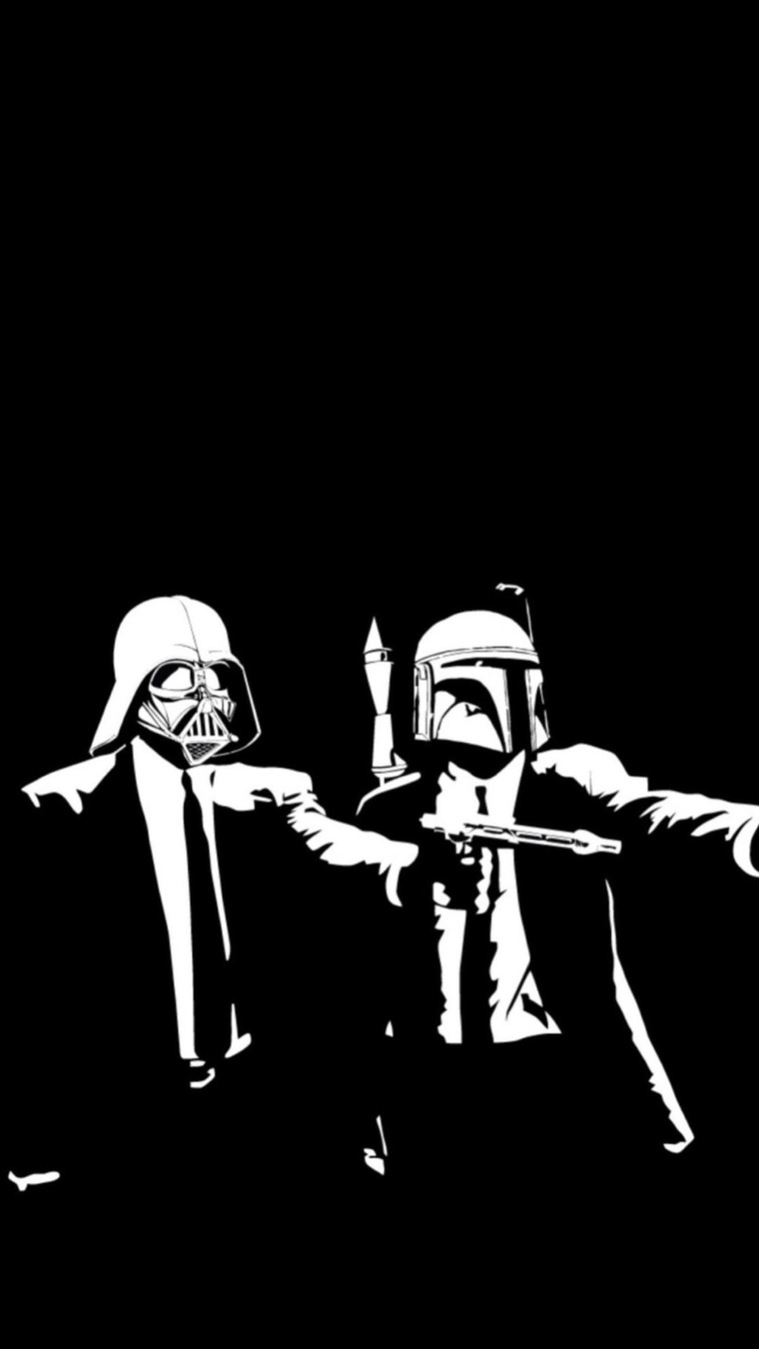 Pulp Fiction vs Star Wars Wallpaper