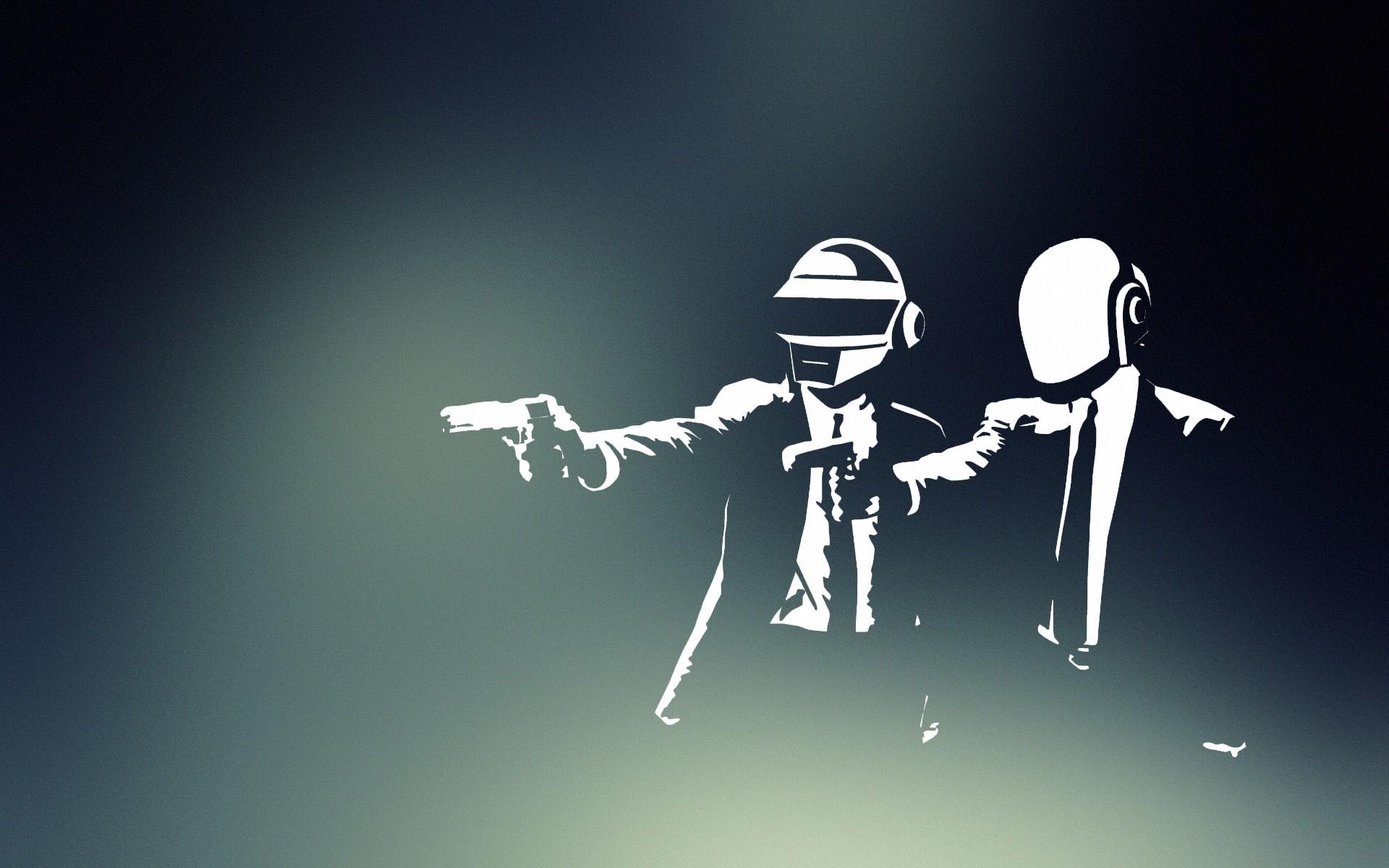 Daft Punk, Pulp Fiction wallpaper thumb