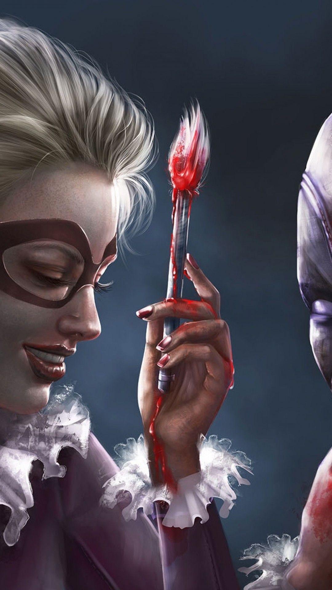 Wallpaper iphone harley quinn – Harley Quinn Deadpool Artwork Dc Universe  Marvel Universe. Download
