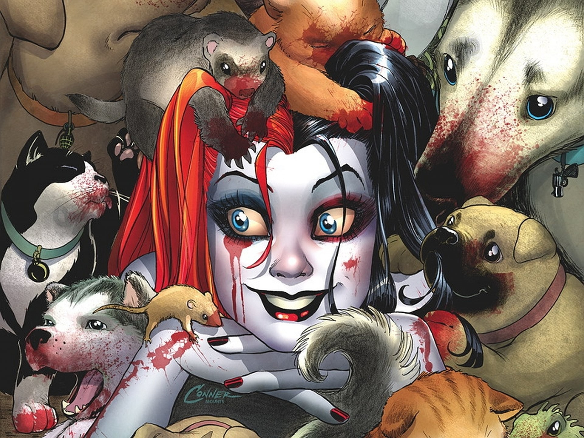 Harley Quinn Comic Wallpapers | WallpapersIn4k.net