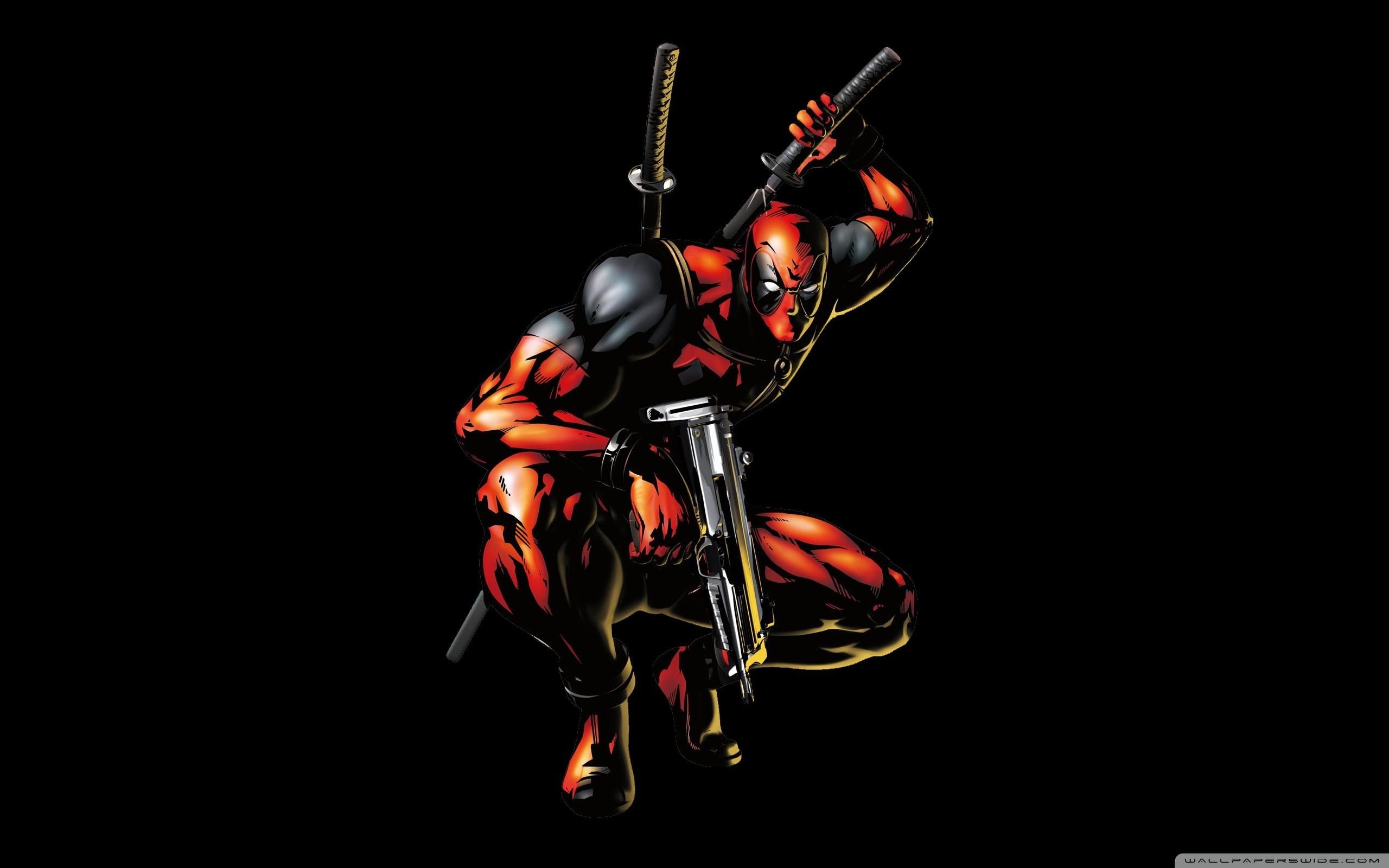 Deadpool Cartoon HD Wide Wallpaper for Widescreen
