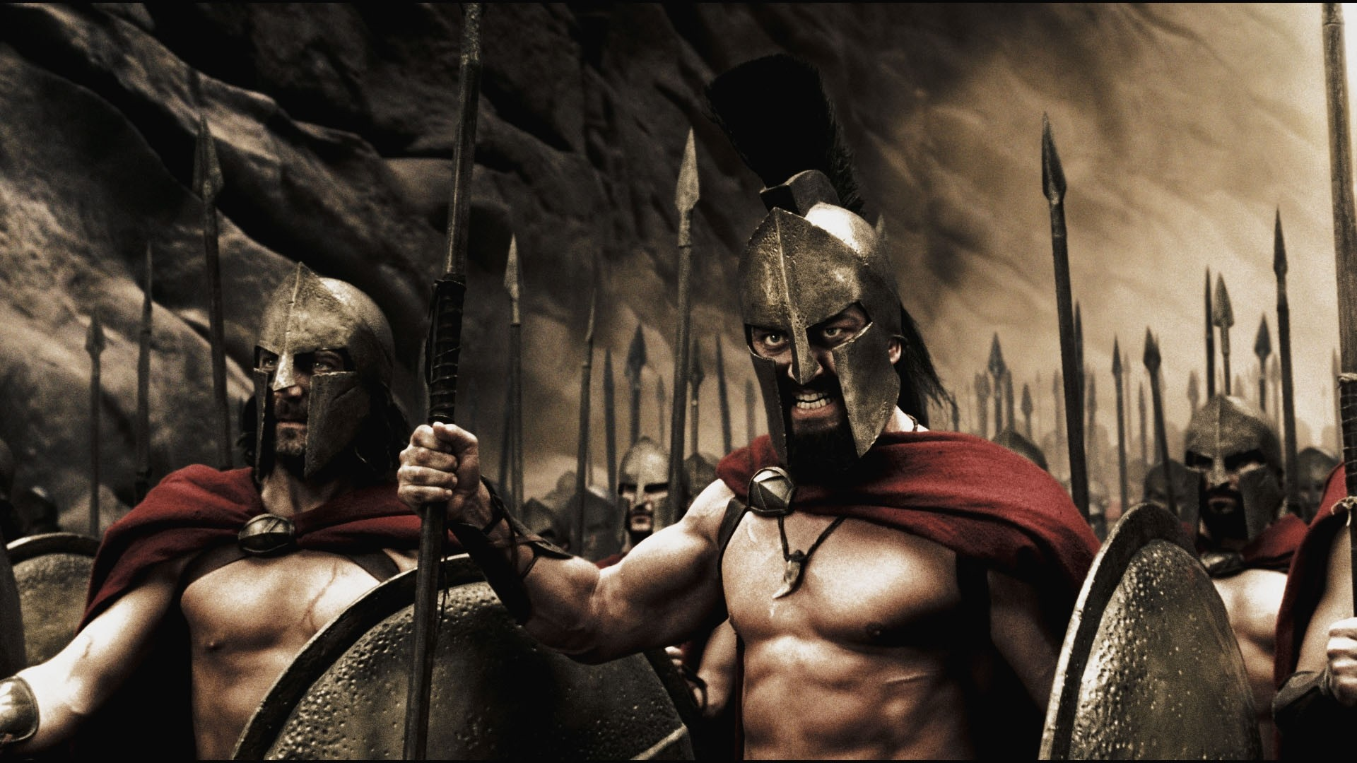 Warriors Spartans 300 Killers Strong Man [1920×1080] Need #iPhone #6S #Plus