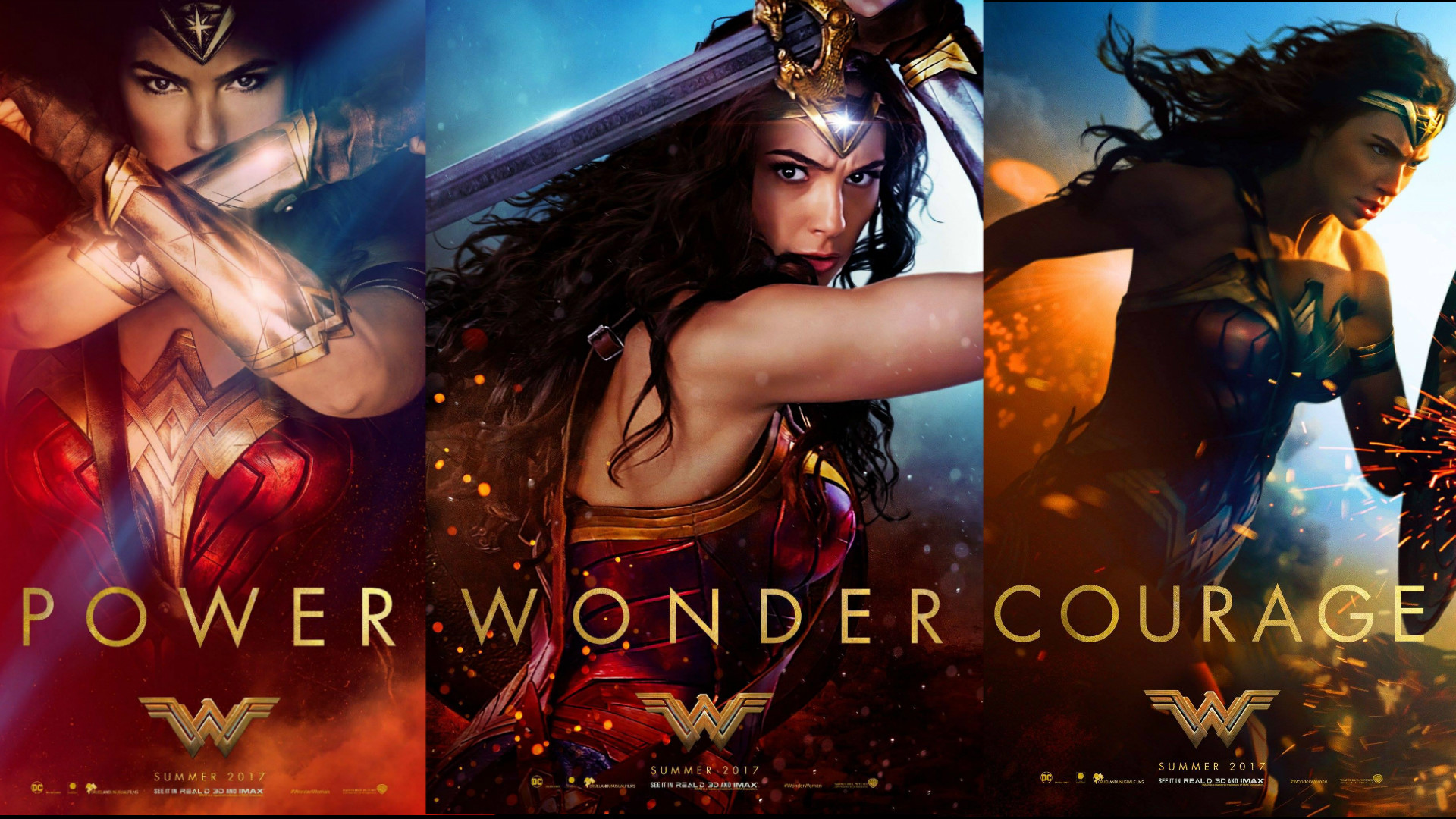 Wonder Woman Movie Wallpaper of the Posters (1920×1080) …