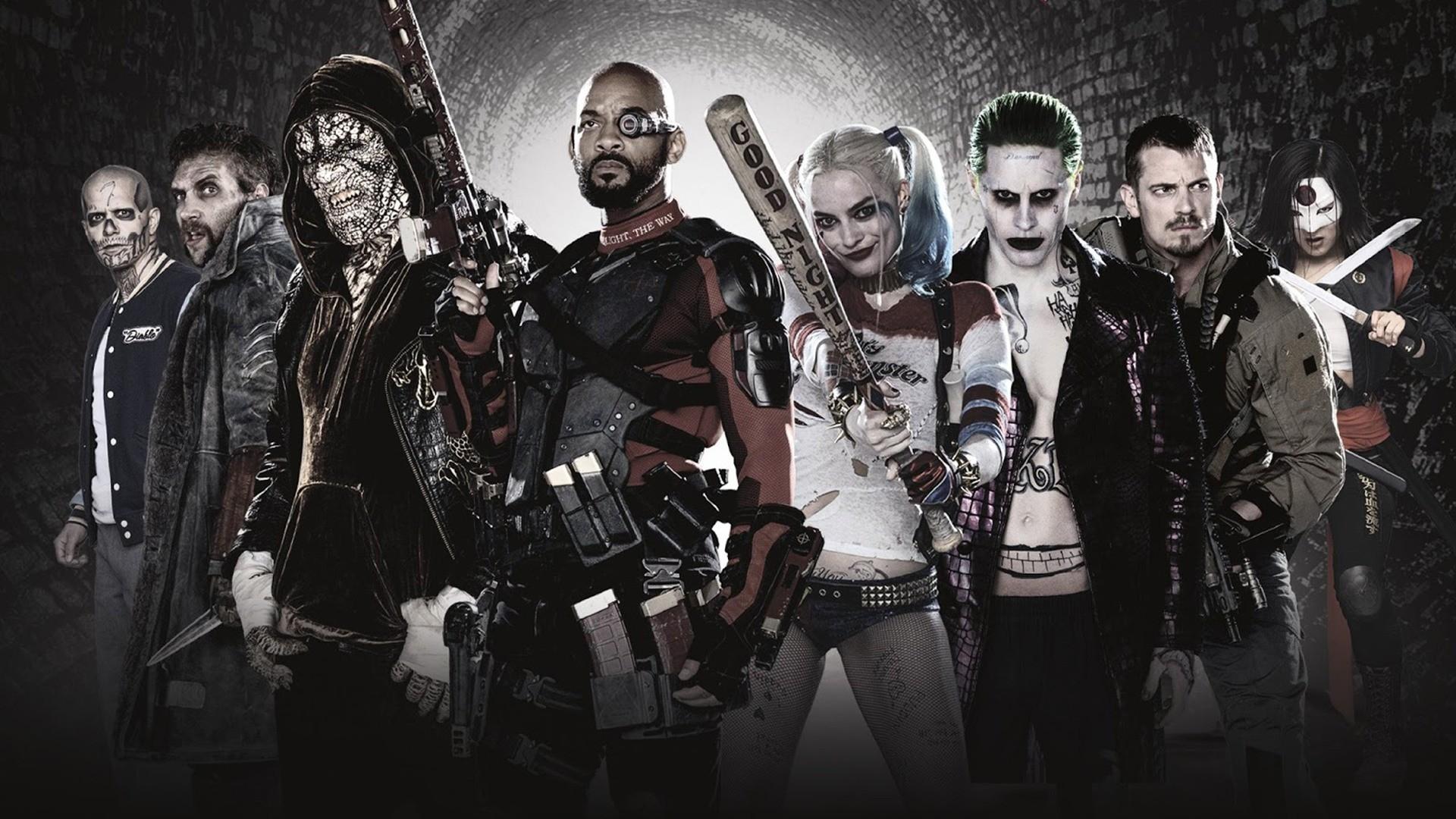 Movie – Suicide Squad Harley Quinn Deadshot Joker El Diablo Will Smith  Captain Boomerang Katana (