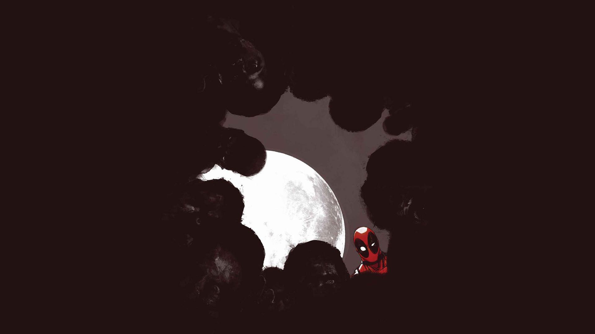 Deadpool Marvel Moon Night Zombie superhero wallpaper | | 166893  | WallpaperUP