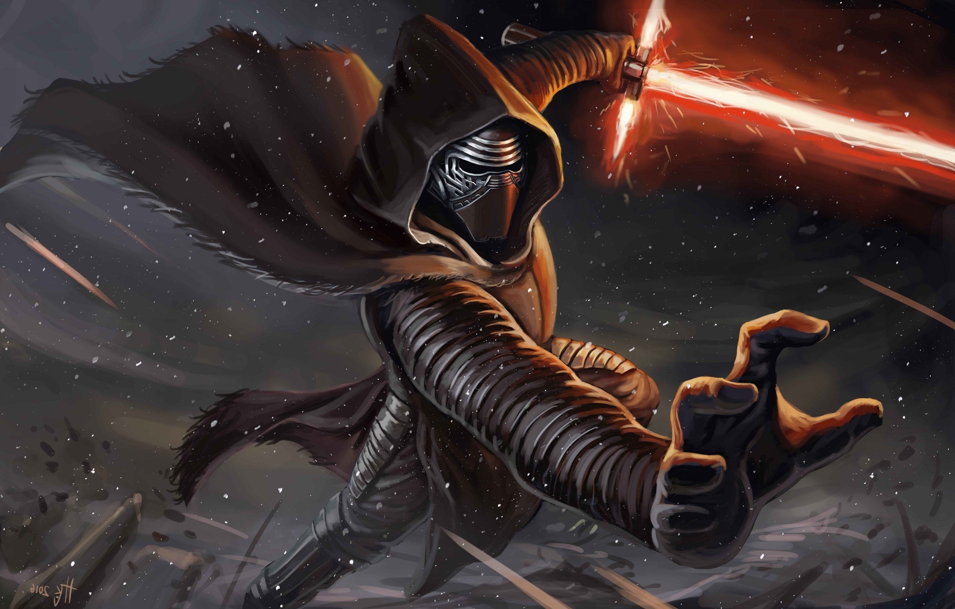 Kylo Ren, Star Wars, Artwork Wallpapers HD / Desktop and Mobile Backgrounds