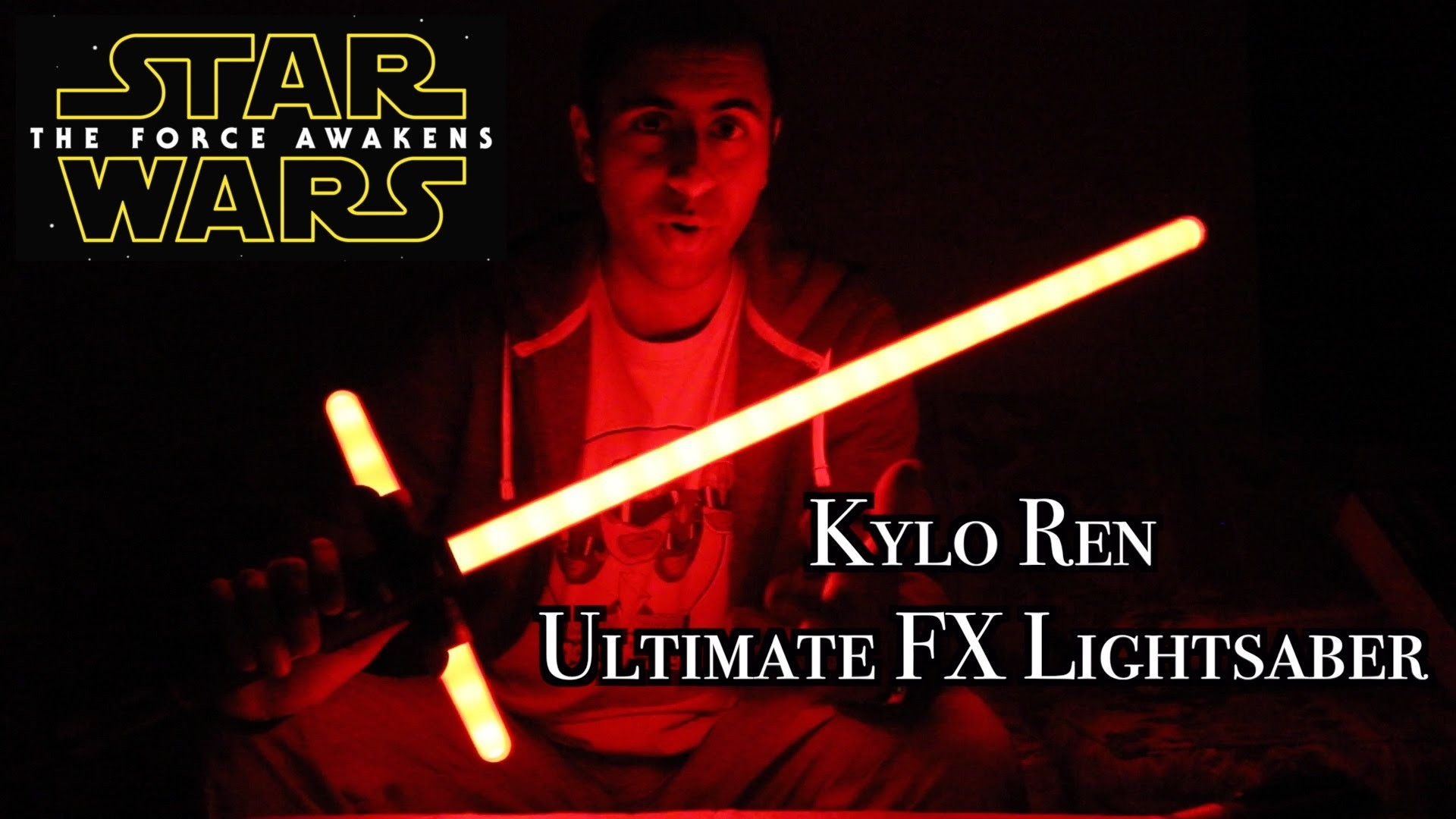 Kylo Ren Ultimate FX Lightsaber Review [Star Wars: The Force Awakens] –  YouTube