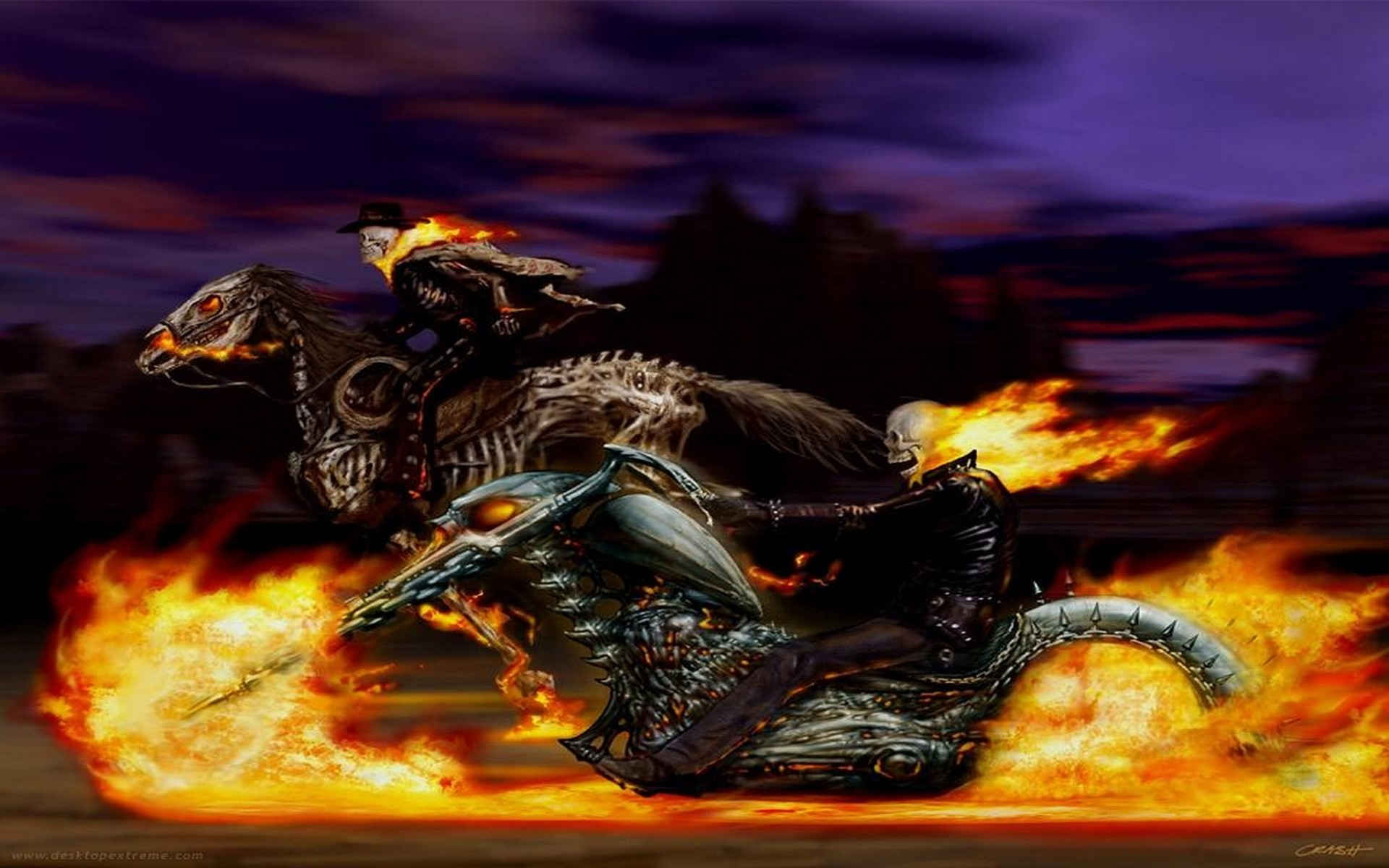 127 Ghost Rider HD Wallpapers | Backgrounds – Wallpaper Abyss