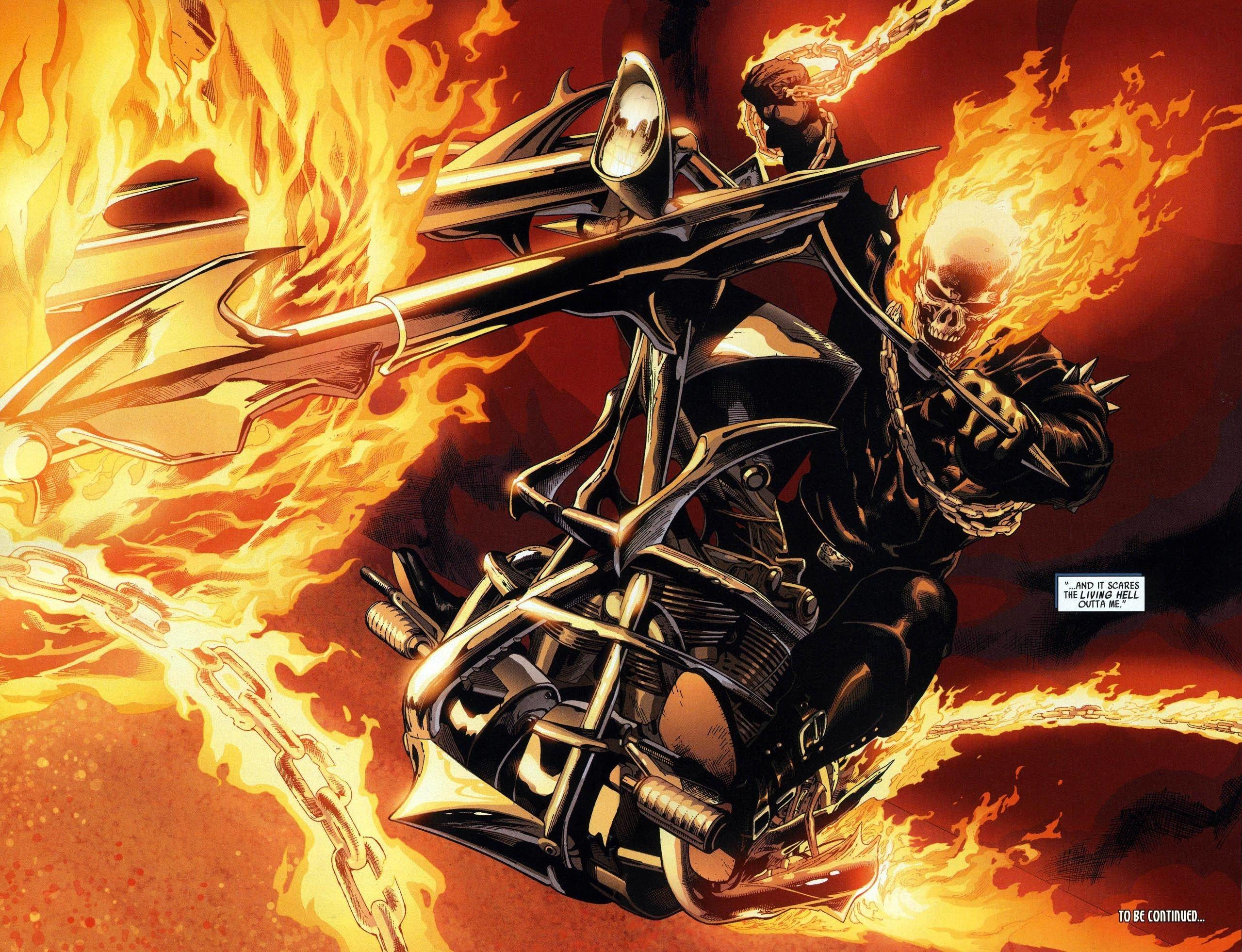 Images For > Marvel Ghost Rider Wallpaper