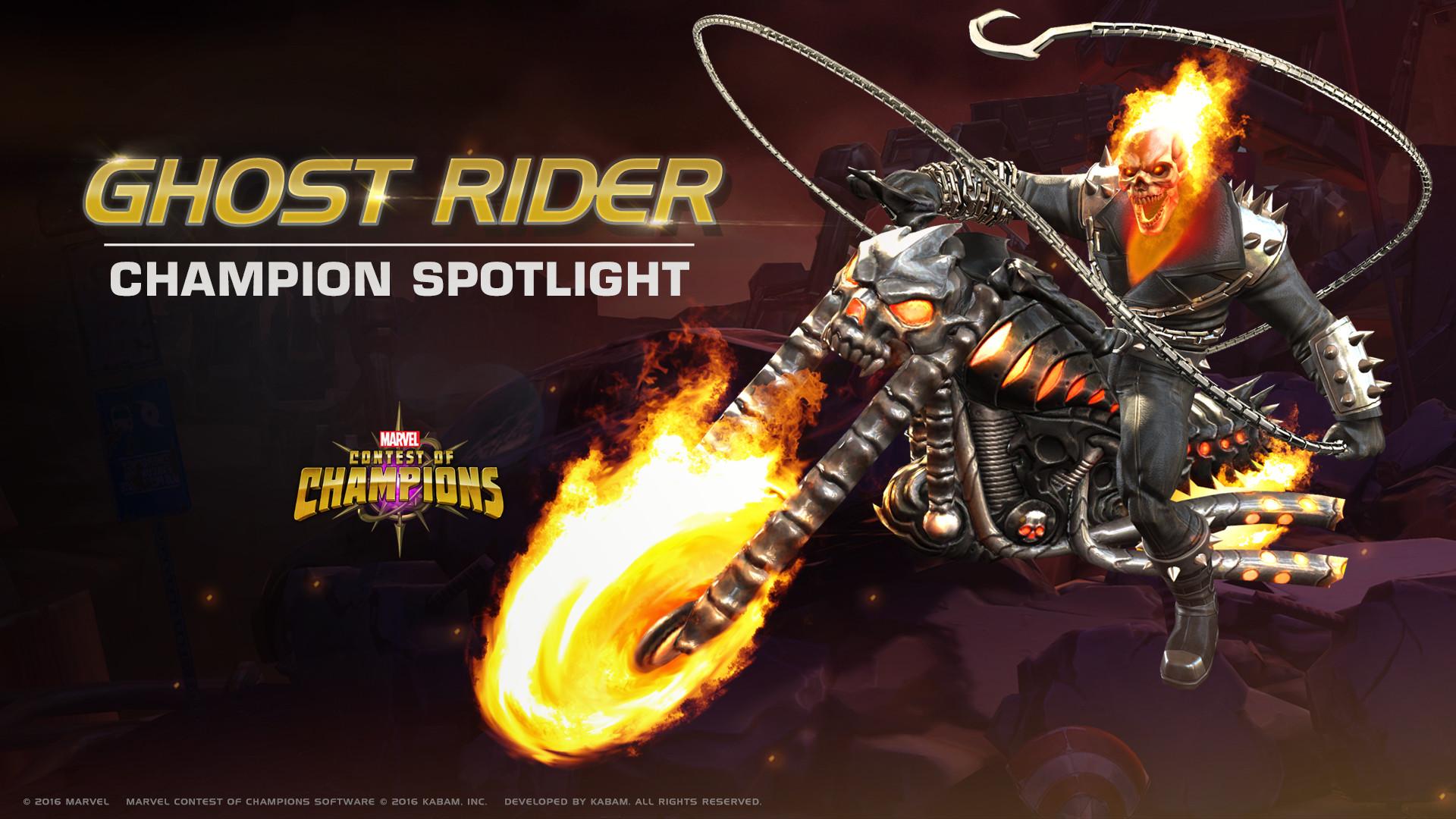 CHAMPION SPOTLIGHT – GHOST RIDER | Marvel Contest of Champions