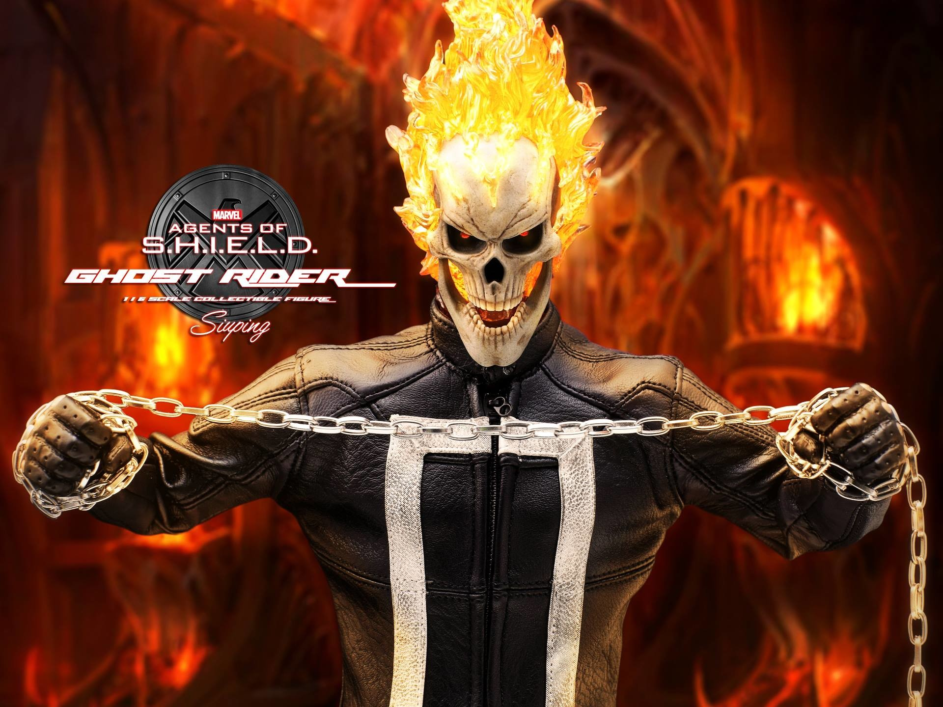 Hot Toys Agents of S.H.I.E.L.D. Ghost Rider Final Promo Images … Hot Toys  Agents Of S H I E L D Ghost Rider Final Promo Images
