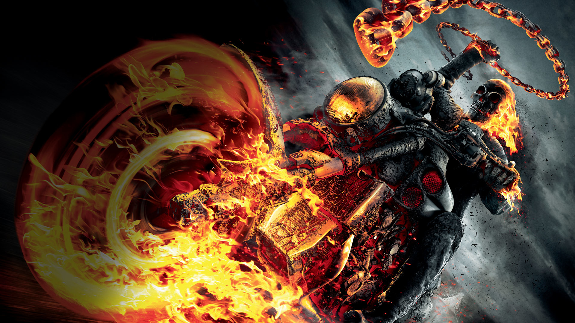 If this is a Ghost Rider alternate costume.
