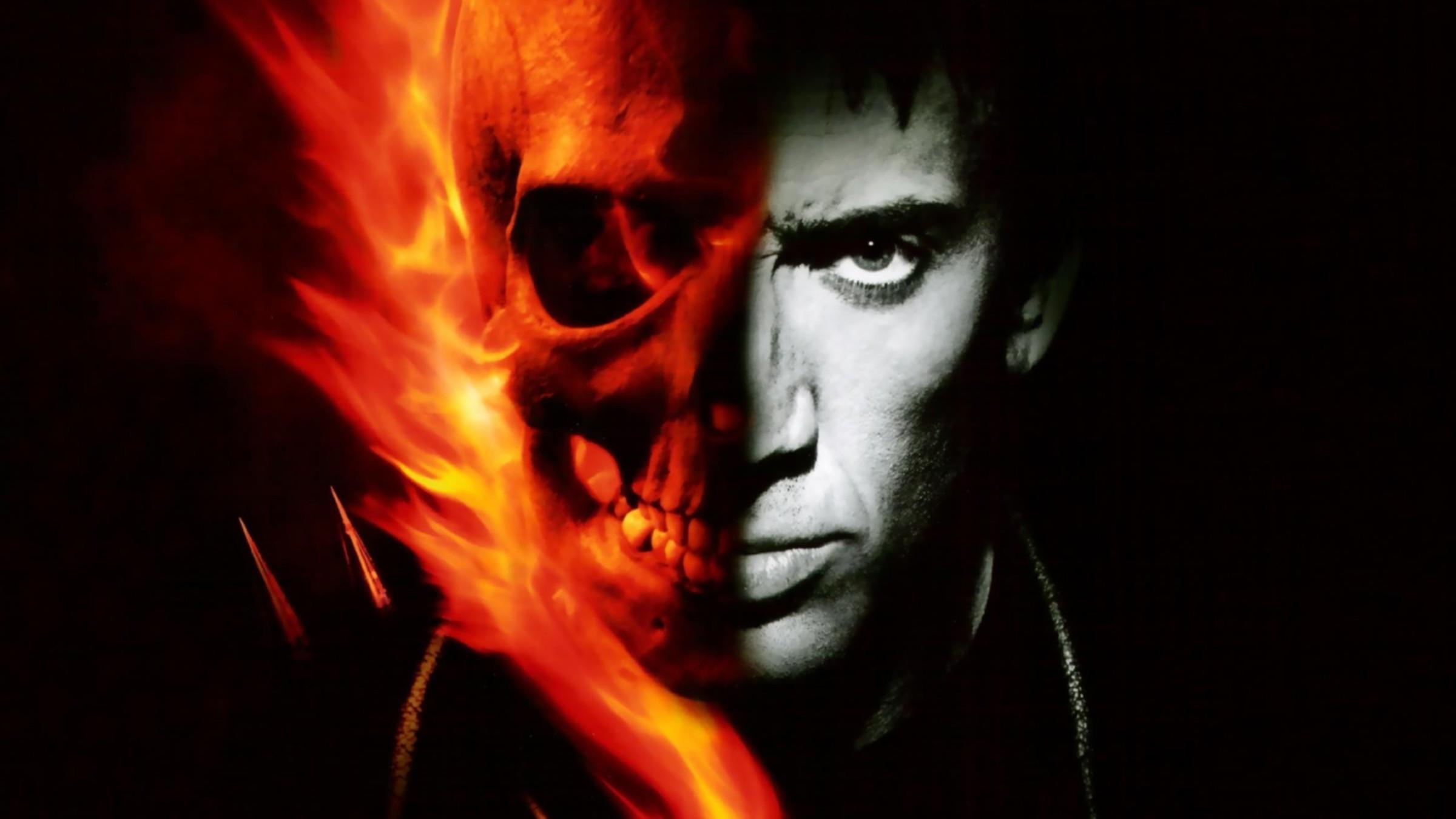 Ghost Rider Skull Wallpaper