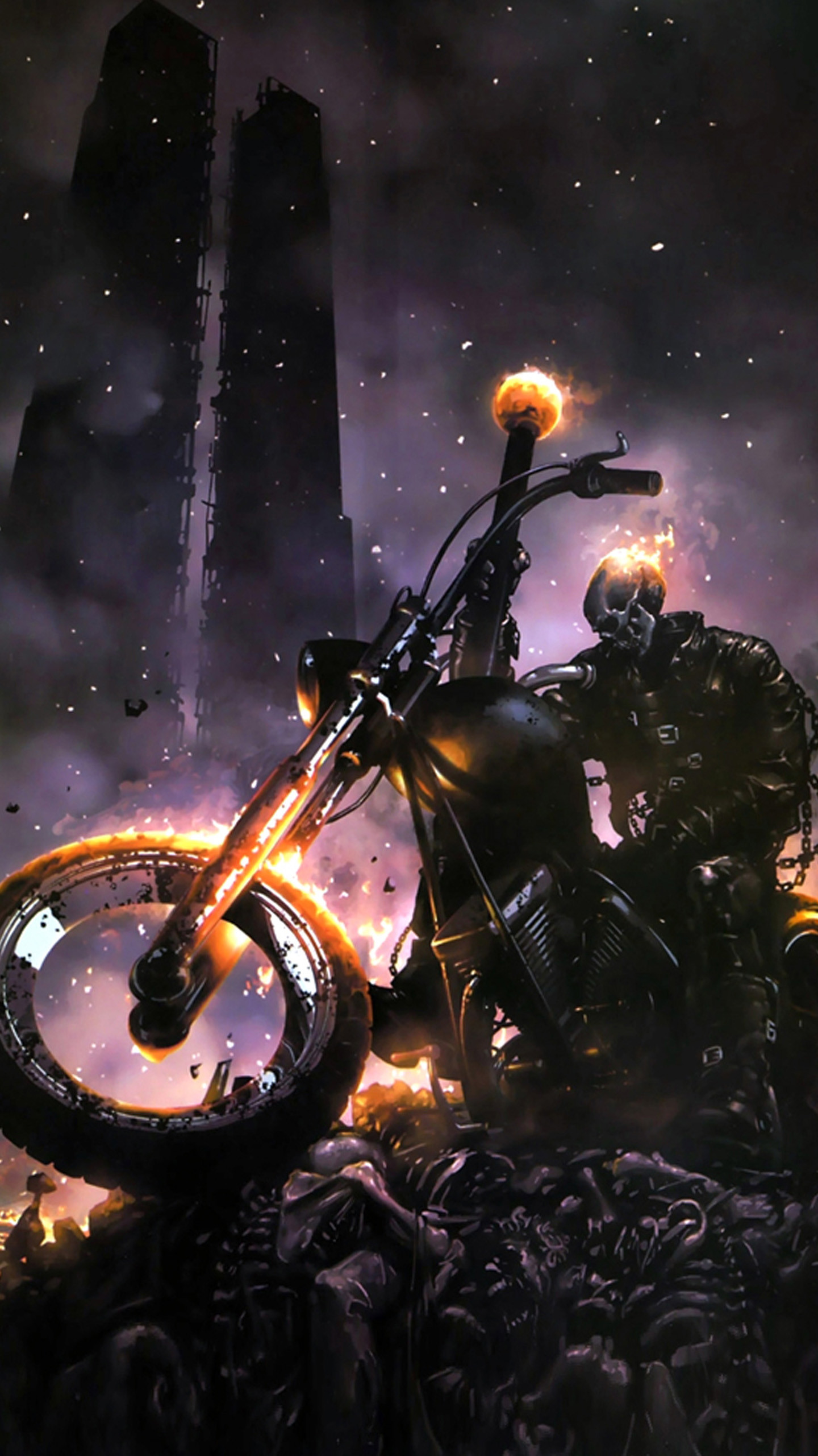 Ghost Rider Mobile Phone Wallpapers Mobile Phone Hd x 1440×2560