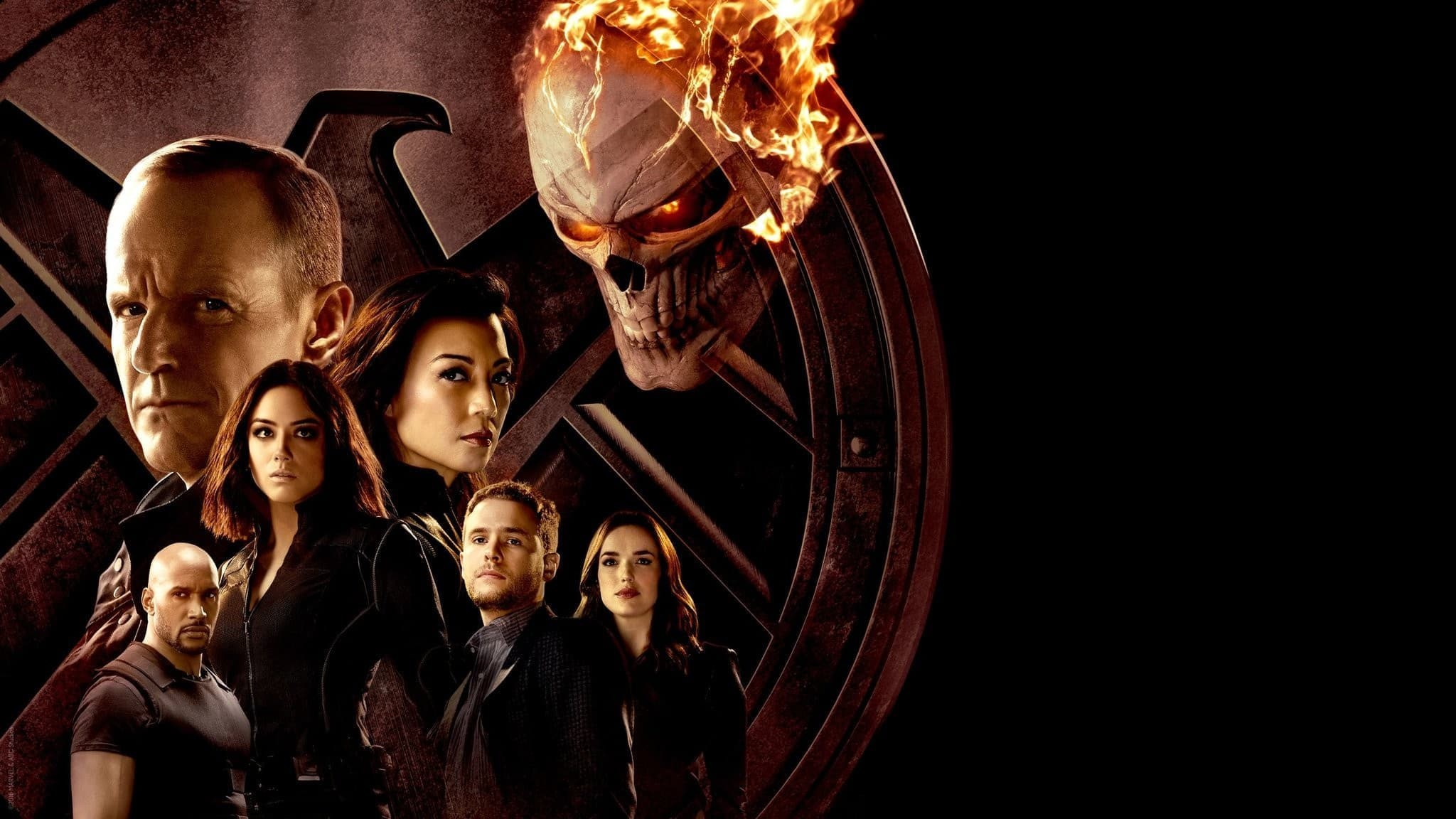 Agents of Shield Ghost Rider team and all characters