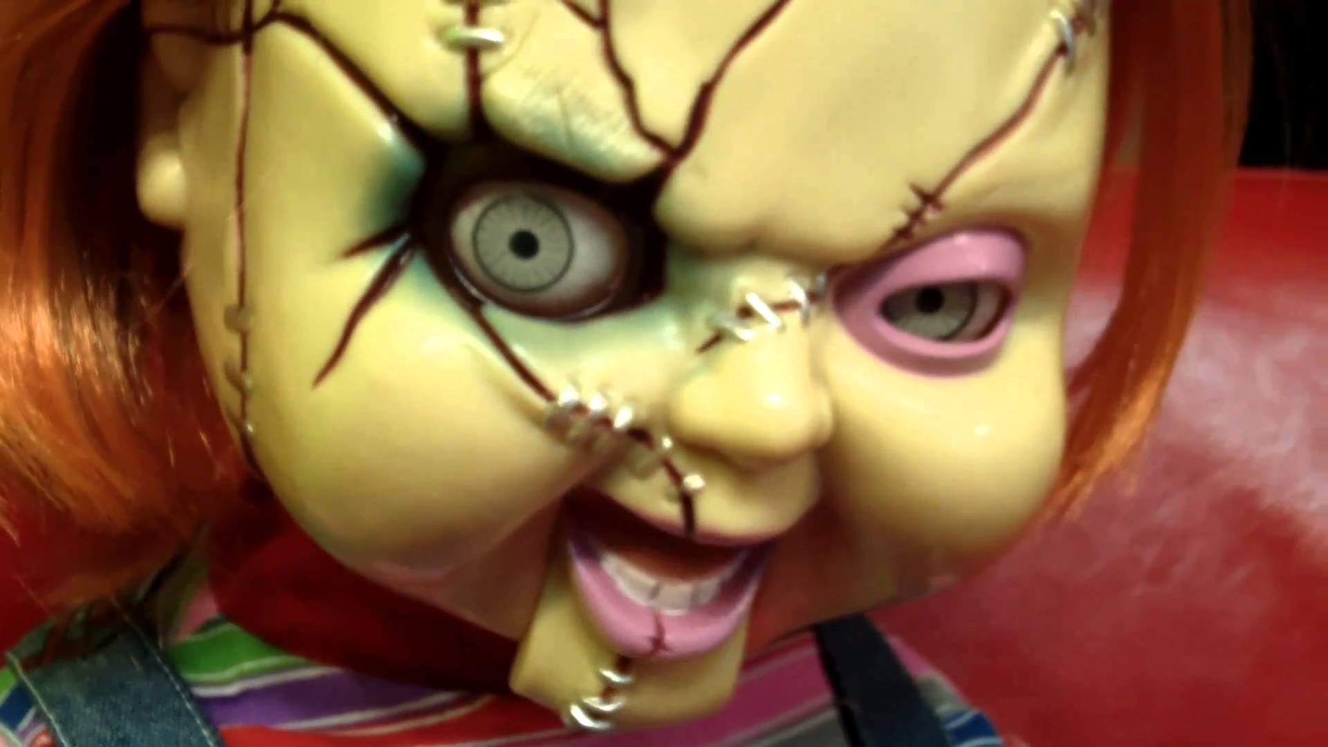 Chucky SCARY Animated Life-Size Talking Doll by Mike Mozart of  TheToyChannel – YouTube